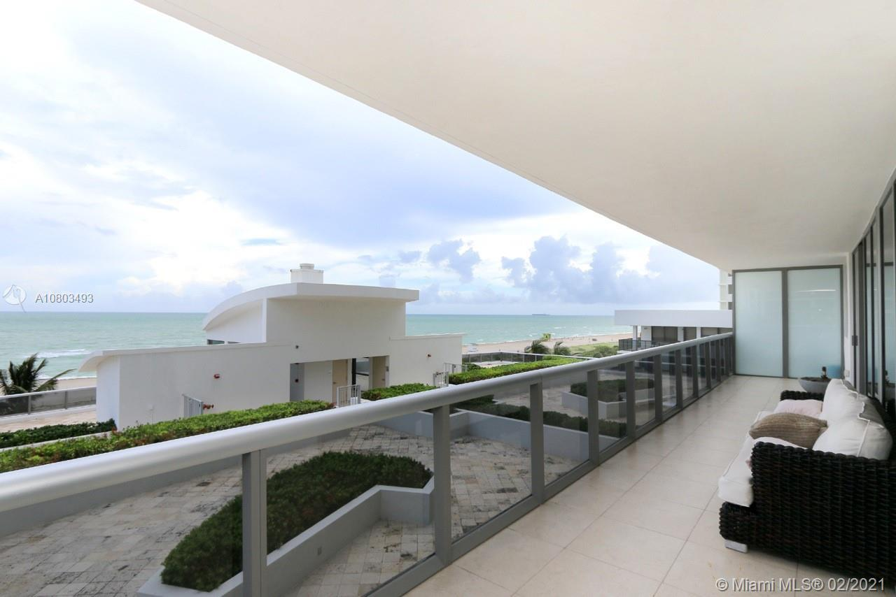 Amazing direct ocean and bay views from this astonishing 2 bedrooms, 2 full bathrooms + 1 half bathr