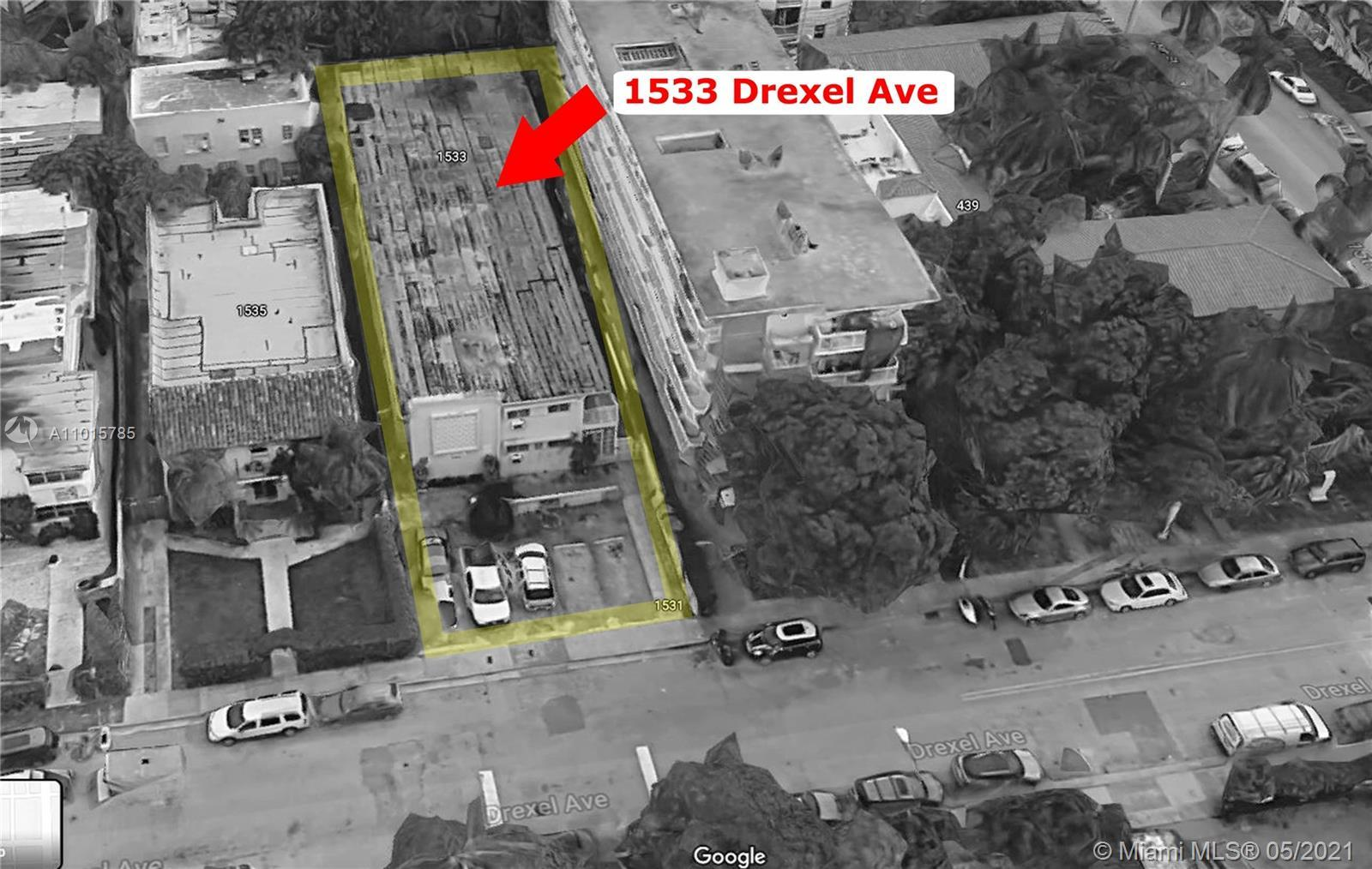 Great Opportunity!  Miami Beach commercial apartments with 18 units. Please contact realtor for more