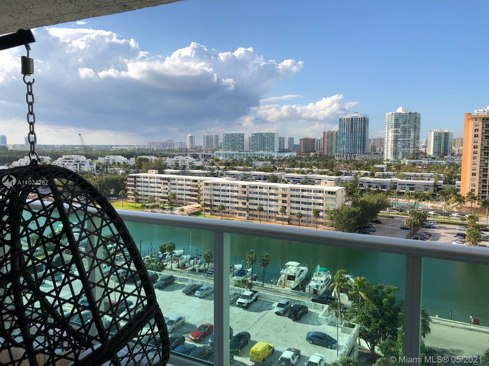 Nicely renovated unit, 2 bedroom and 2 full baths overlooking canal, intracoastal and the city.  Ma