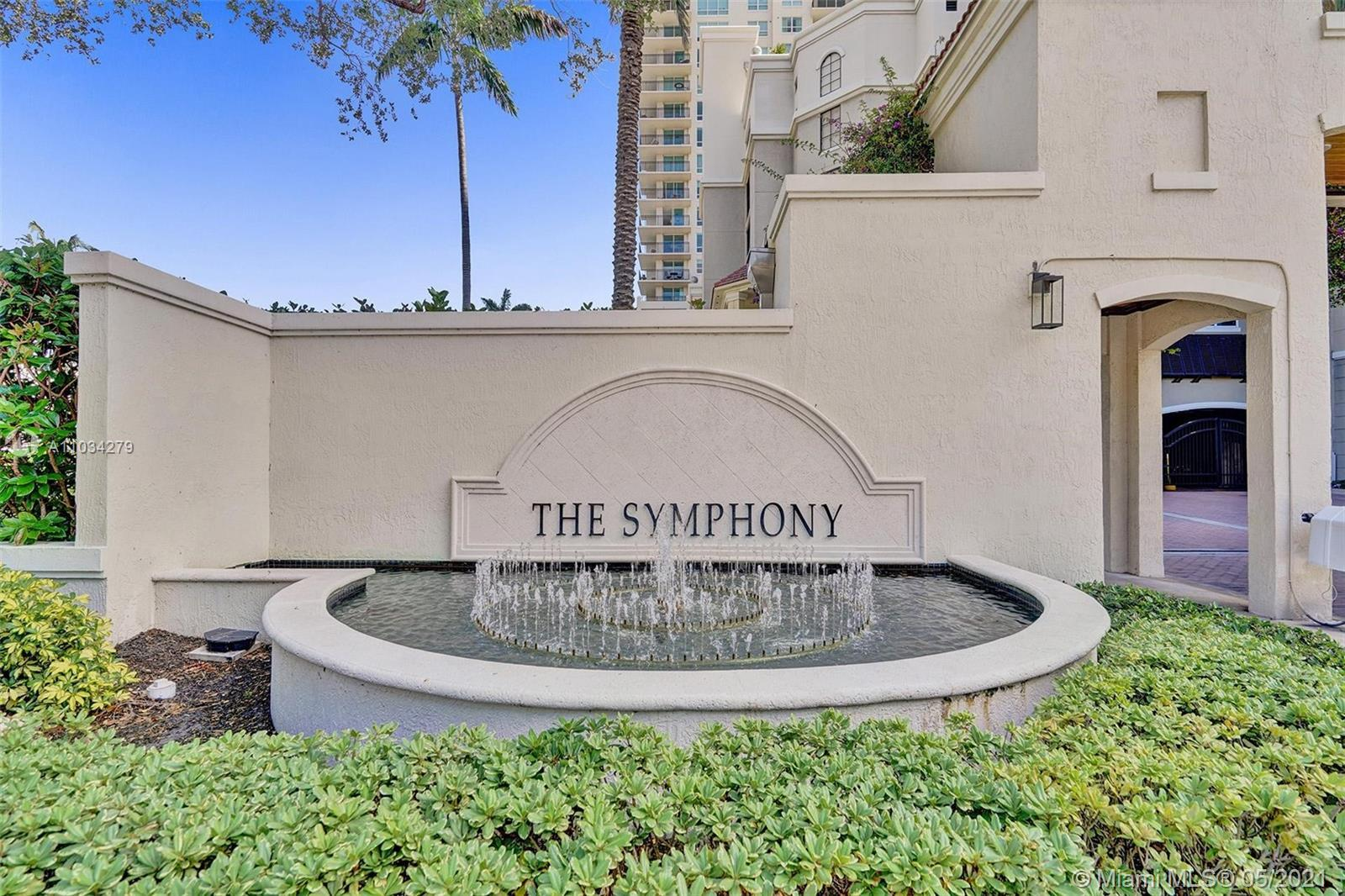 Outstanding views abound in this eclectic gem located in Ft Lauderdale's Symphony! All the splendor