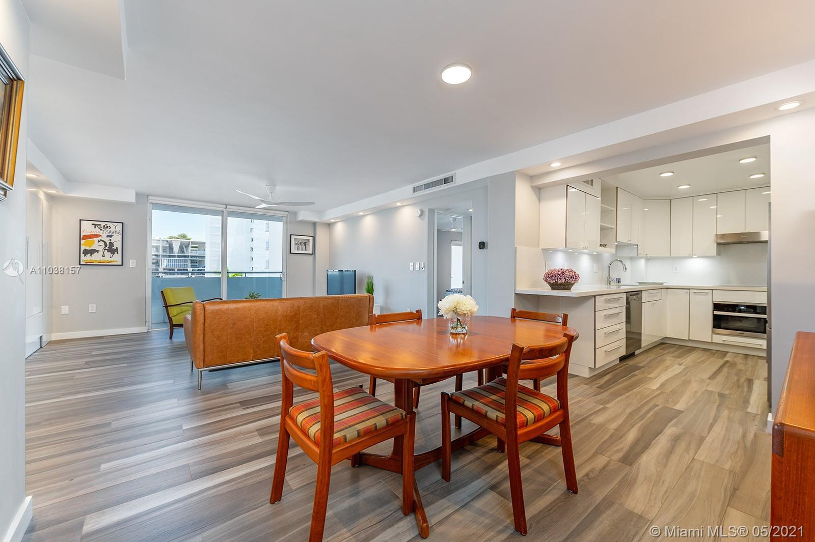 Everything you've been looking for:  Space, light, completely renovated, steps to Lincoln Road!  Ove