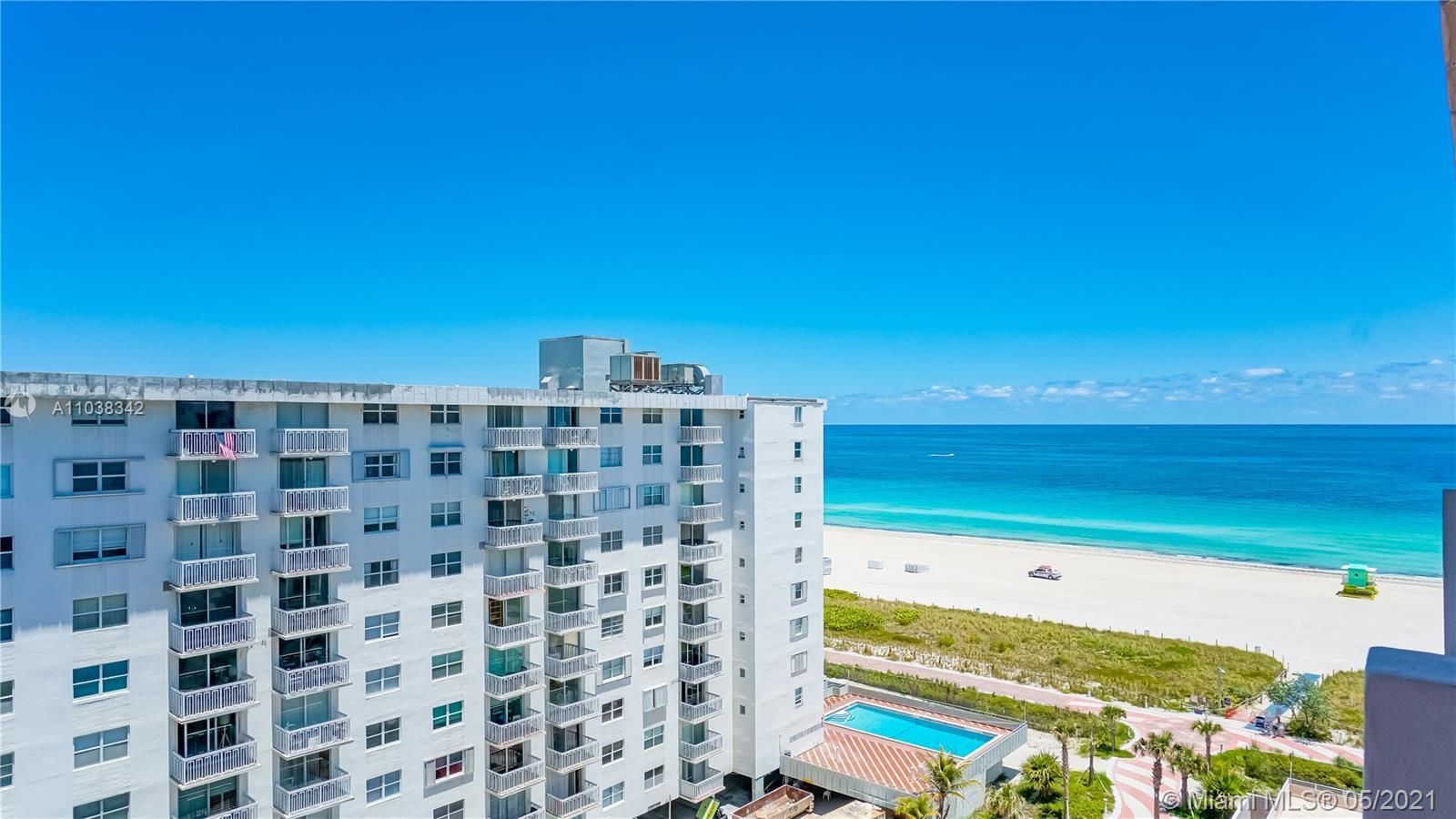 Ocean Views on Ocean Drive in Miami Beach's prestigious South of Fifth!! Recently Renovated and tast