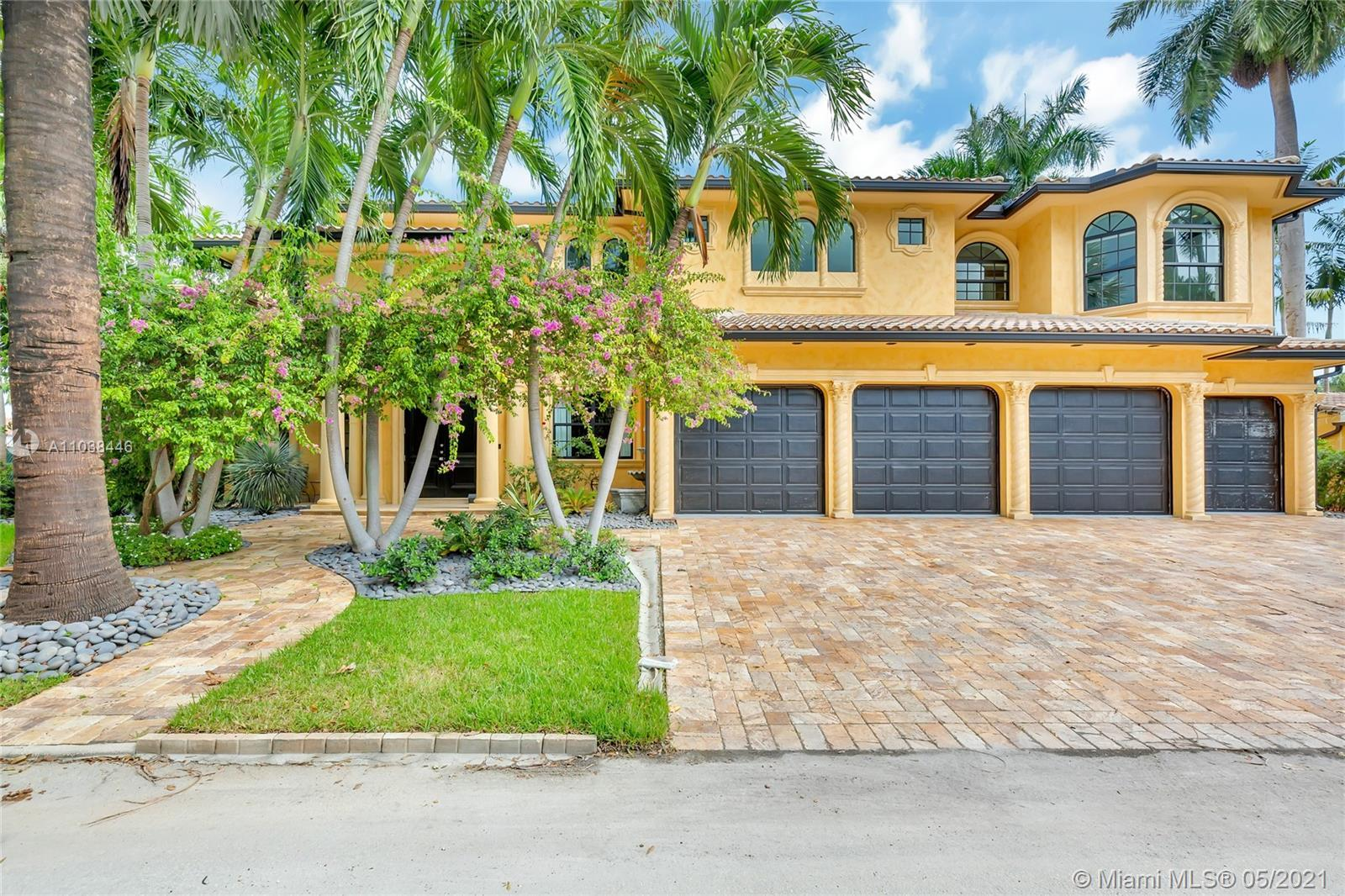 Stunning sophisticated home located in Las Olas Isles within walking distance to famous Fort Lauderd