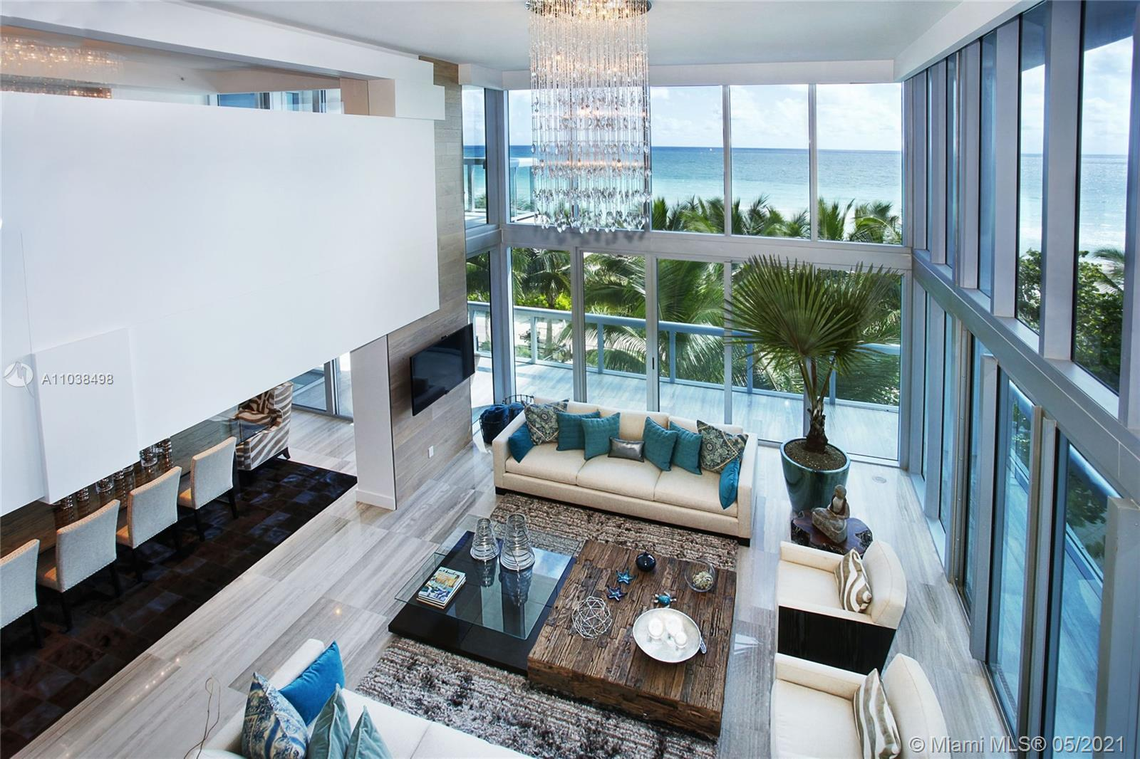This stunning and unique beach house combines the warmth and privacy of an ocean front home with the