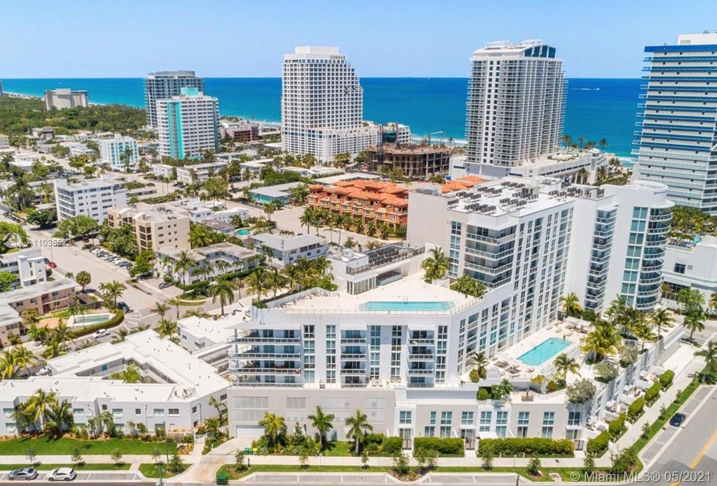 Spectacular 9th floor  2 bedroom facing South views of Bahia Mar fully furnished with Seven G packag