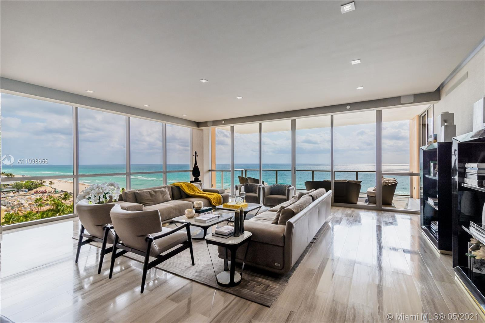 An incredible opportunity to own in the magnificent Mansions at Acqualina and enjoy the five star se