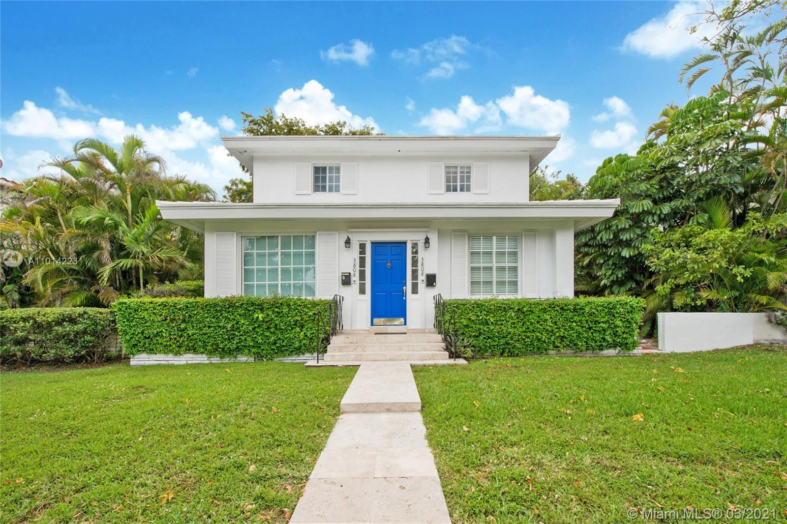 Remodeled, move in condition duplex in one of Miami's most sought after neighborhoods - Coral Gables