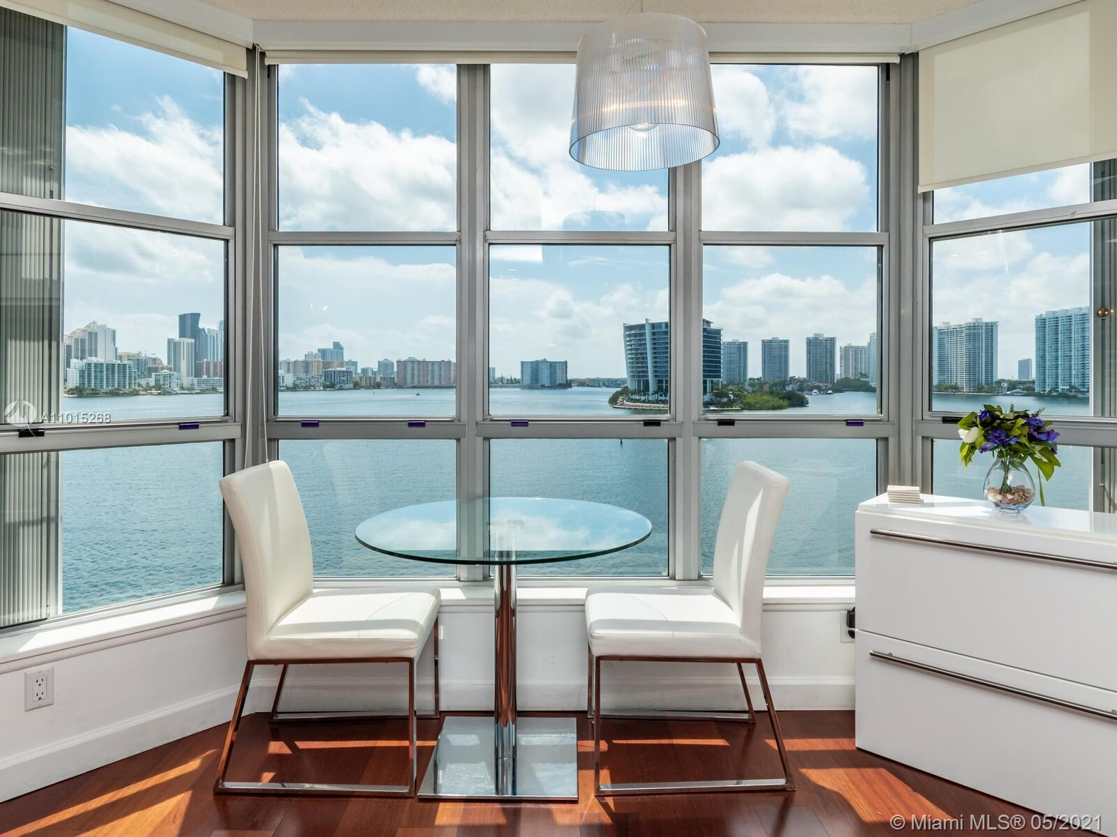 Beautiful Upgraded corner unit in Mystic Pointe Tower 300, Great view from this wrap around balcony