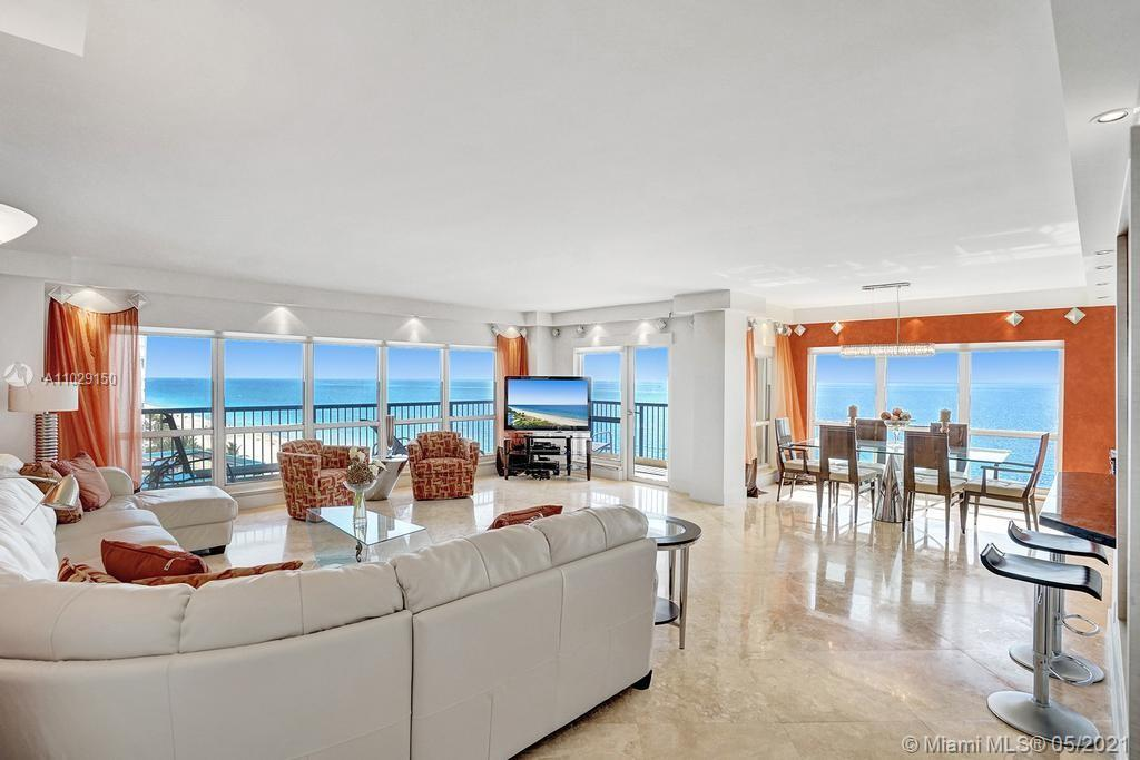 Beautiful NE corner with amazing Direct Oceanfront view.... including the Intracoastal, Skyline and