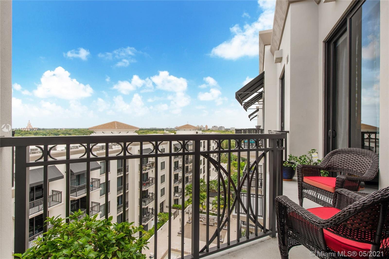 """This beautiful Upper Penthouse is located in the """"City Beautiful"""", Coral Gables, steps away from Mer"""