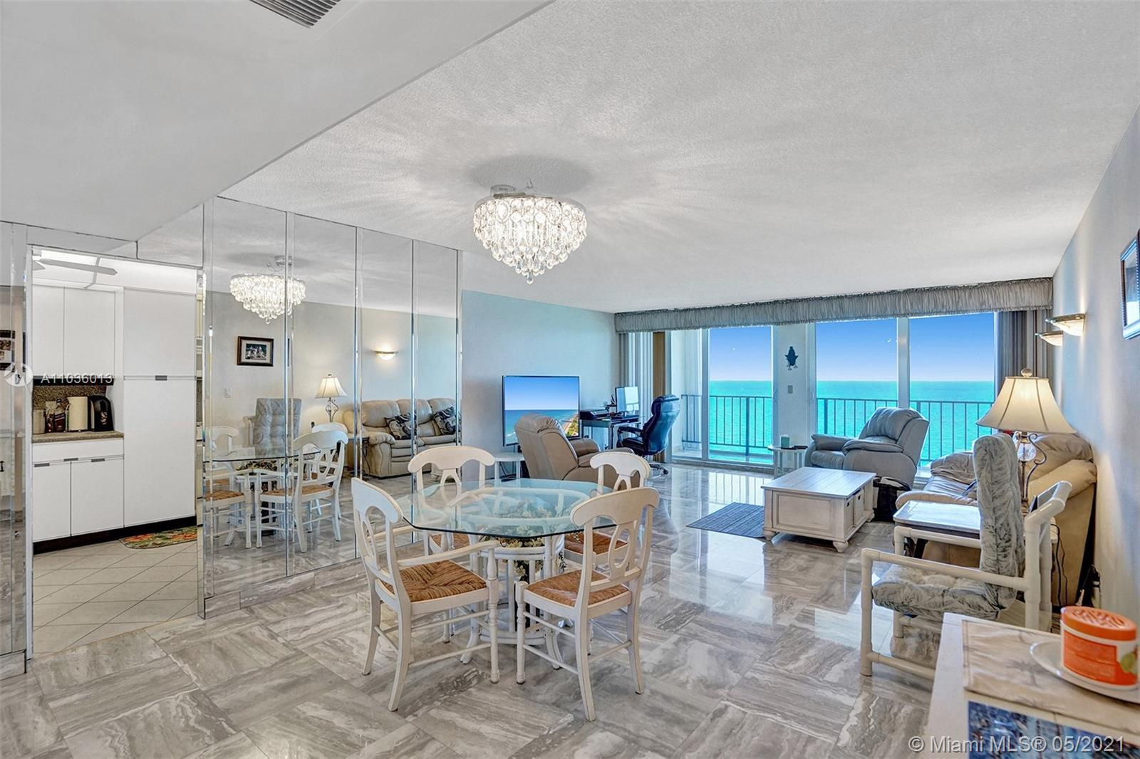 Direct Ocean View!! One of a kind with Multi Million Dollar View!!There are very few condos in the a