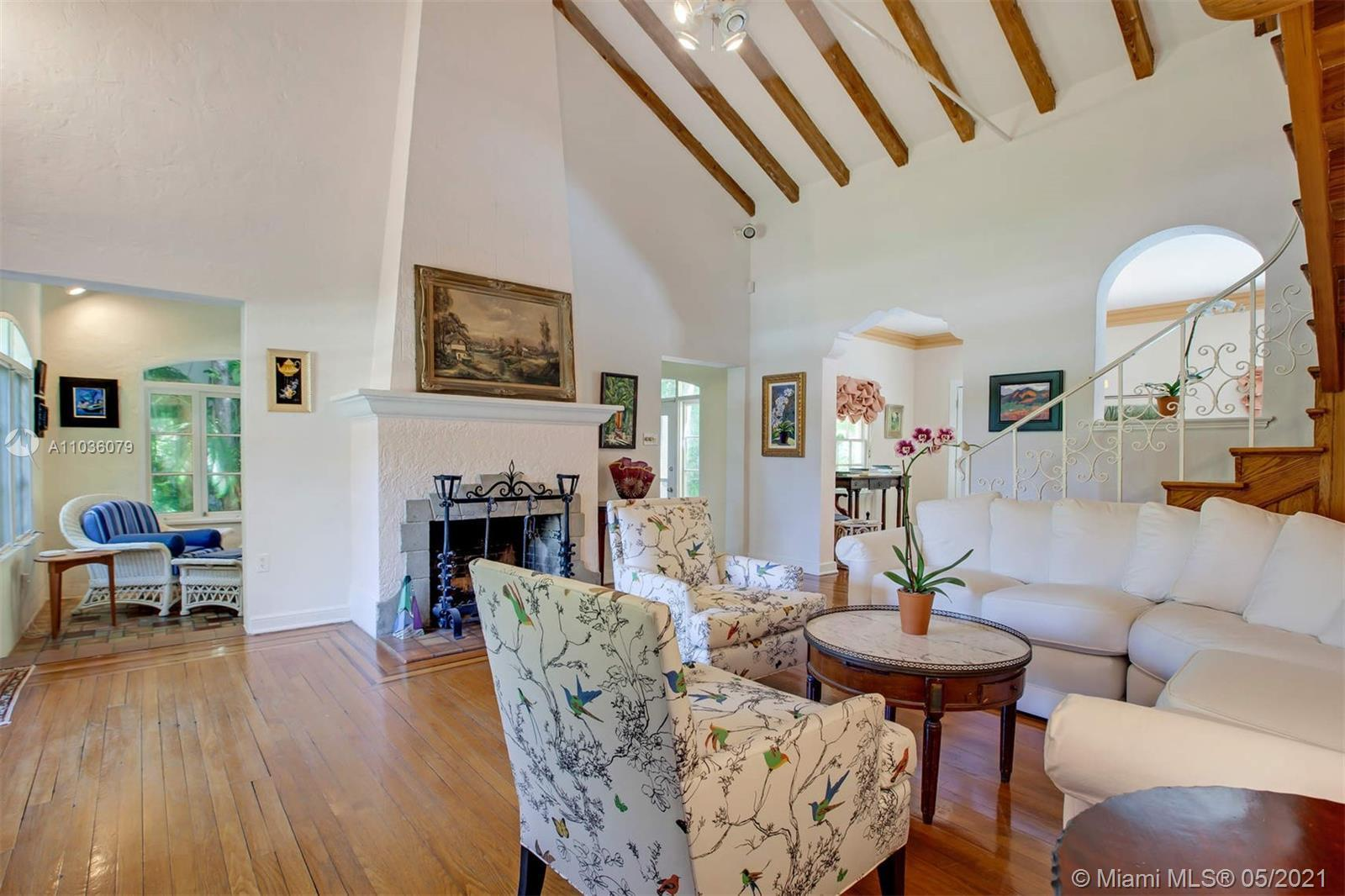 The perfect trifecta awaits you on Upper N Bay Rd, a charming house w cabana,  a romantic palm garde