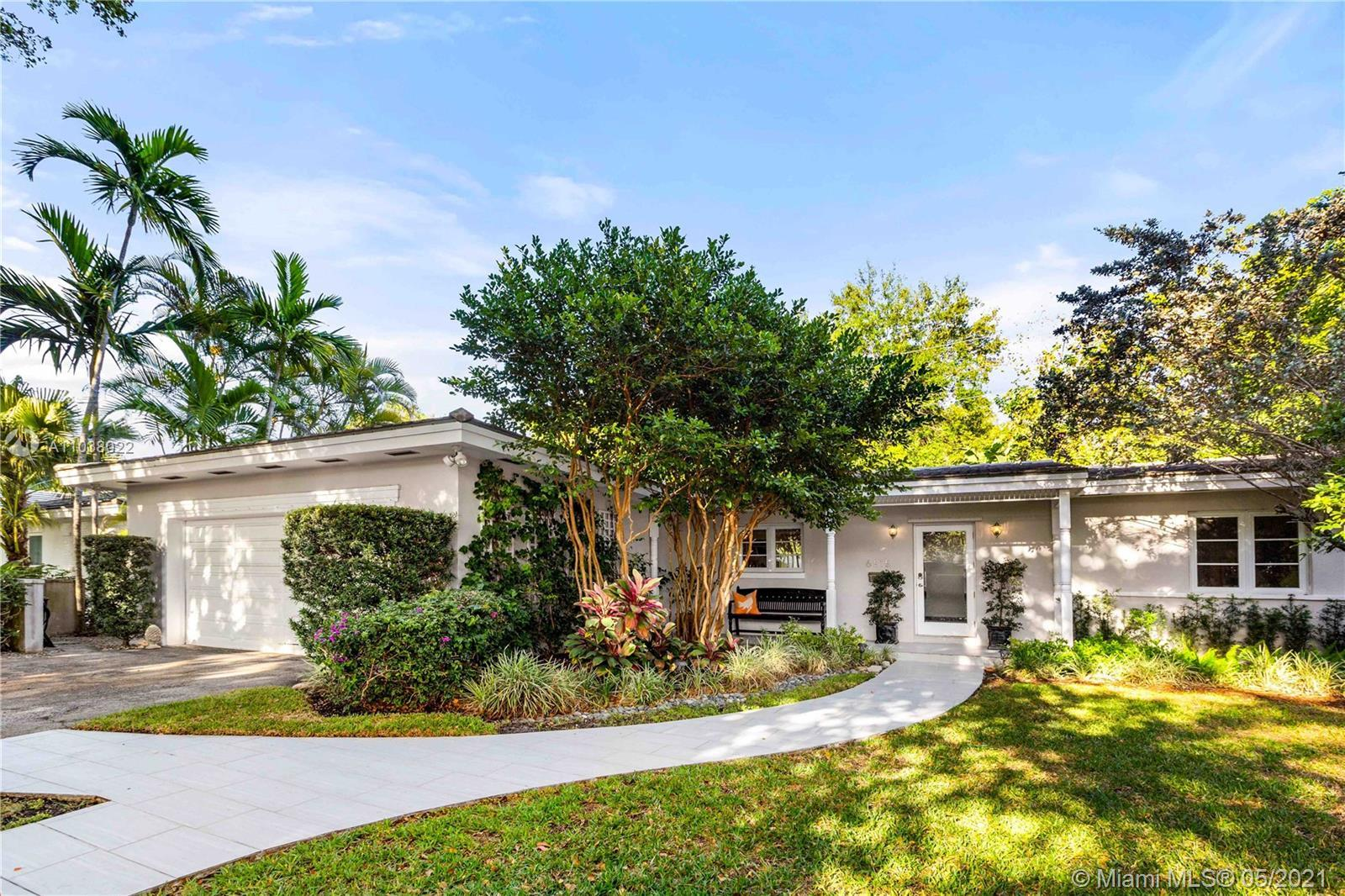 South Gables home in Sunset School district, one of the most sought after neighborhood. Great layout