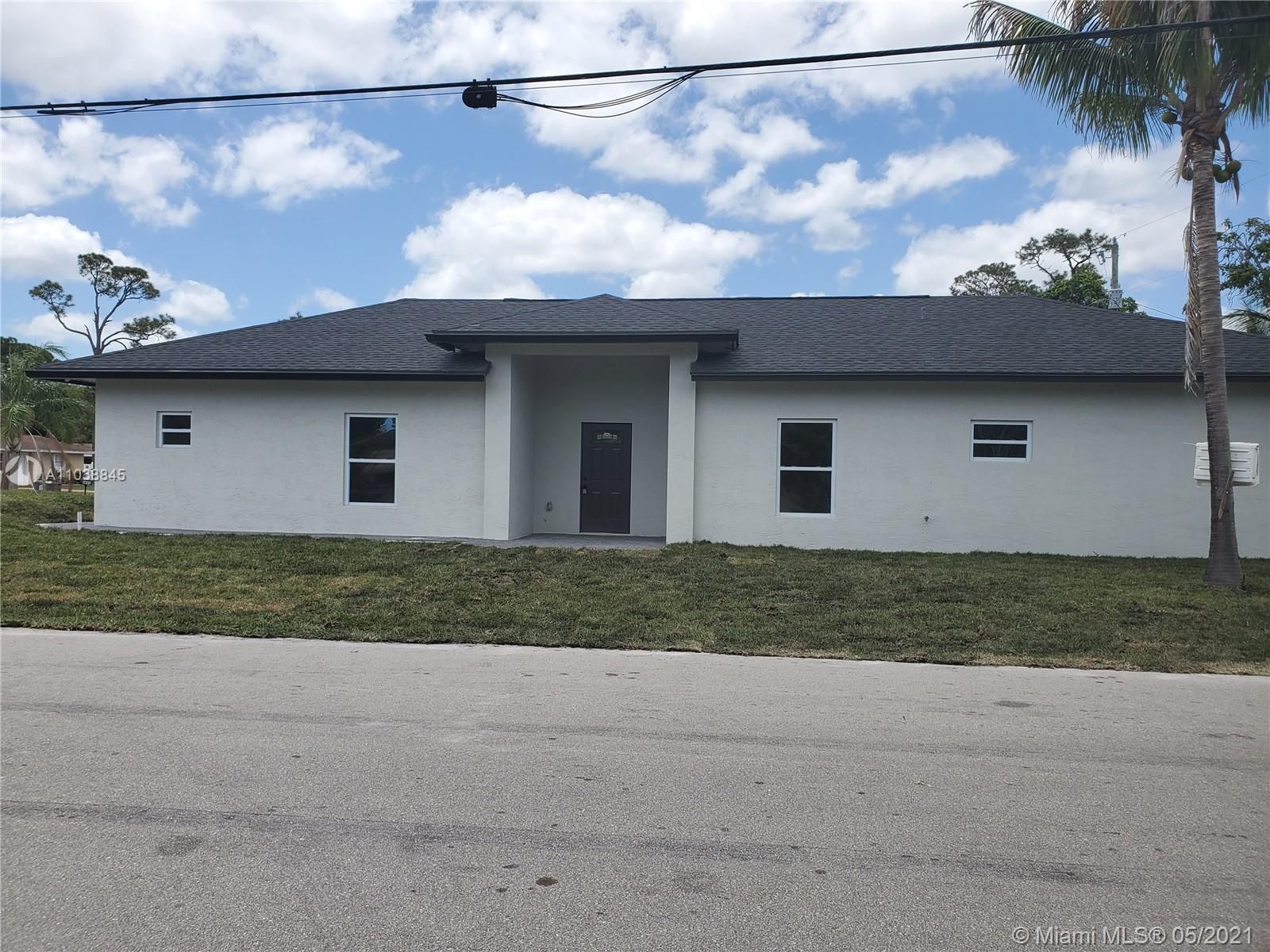 Beautiful, New Construction Home. Features 4 bedrooms, 2 bathrooms and 1 car garage. 12 x 24 tile th