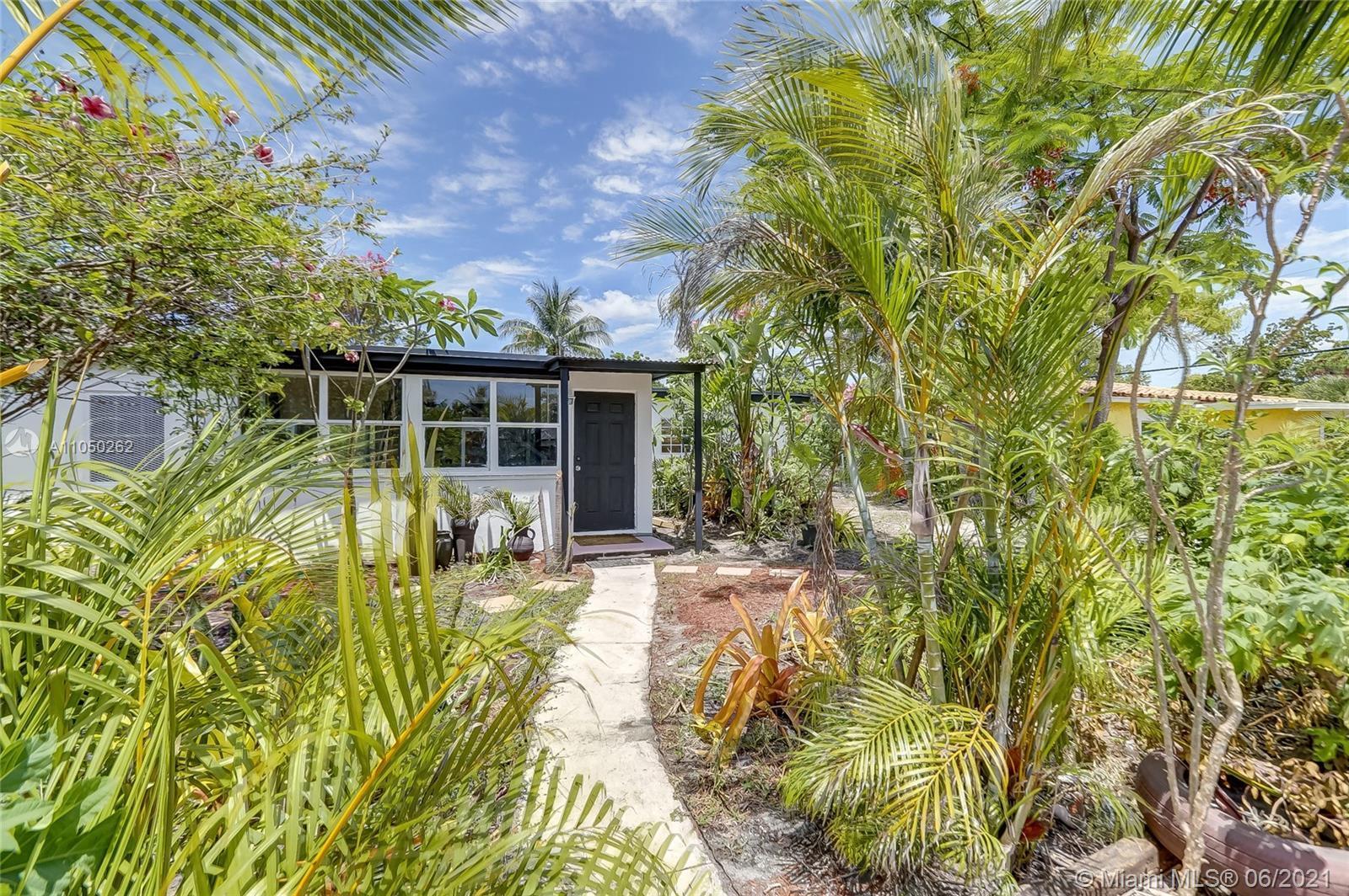 Charming 4 Bedroom 2 bathroom home in very desirable East Ft. Lauderdale Neighborhood of Progresso.