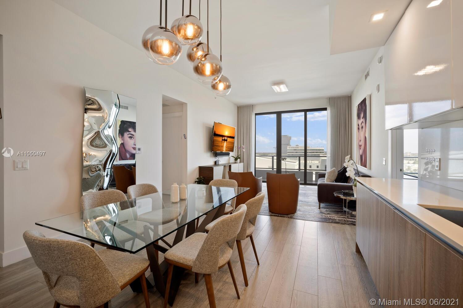 BEST PRICED PH IN THE BUILDING! BRAND NEW AVENTURA PARK SQUARE 2 BED/2 BATH + DEN PENTHOUSE RESIDEN