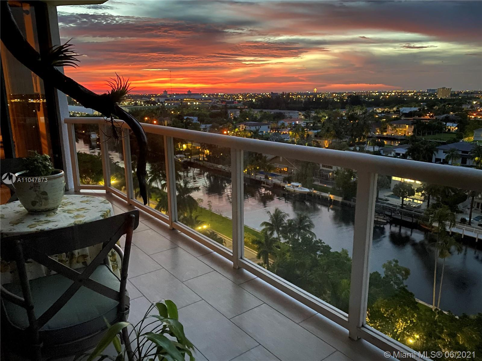 BEAUTIFUL VIEW FROM SUNRISE TO SUNSET. NE VIEWS OF CANAL, INTRACOASTAL AND OCEAN WITH  NW VIEWS OF G