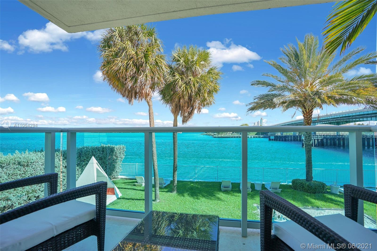 Stunning 1800 square feet apartment with water view from all rooms, quick walk to the beach, as well