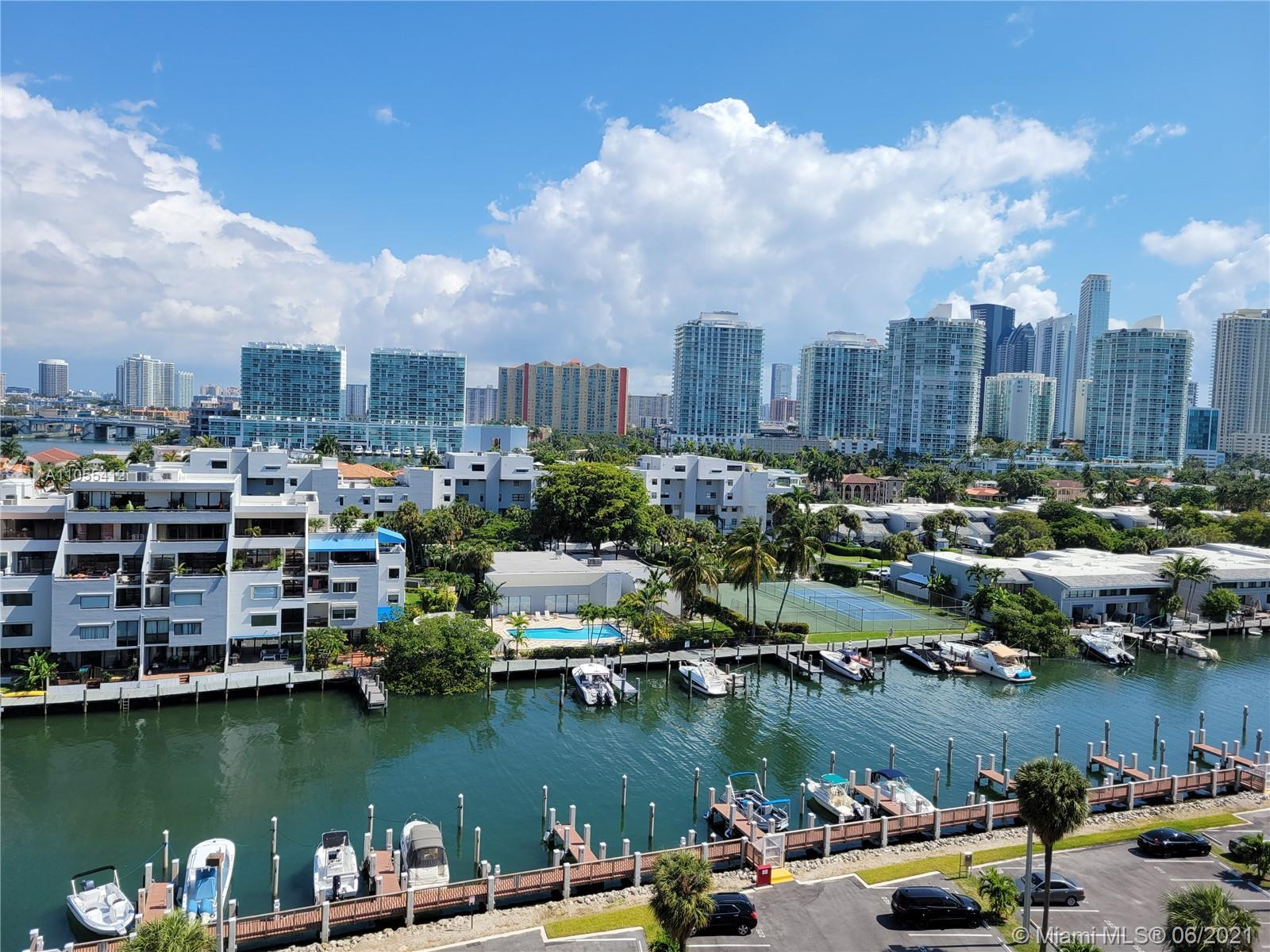 Wonderful water views from this 2bedroom/2bathroom corner unit at Coastal Towers. Across the beach a