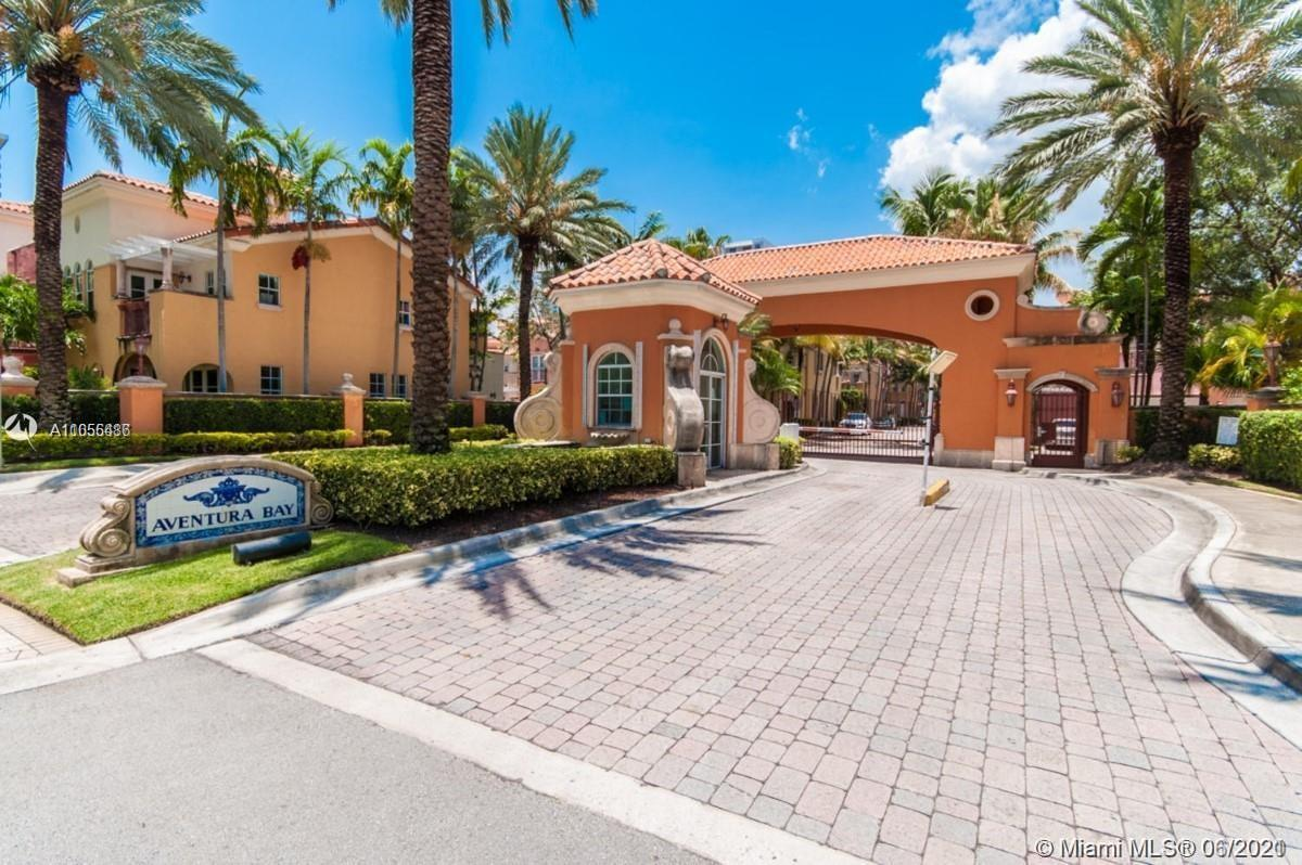 Mediterranean style two stories and two car garage townhome in the heart of desirable Aventura. 3 Be