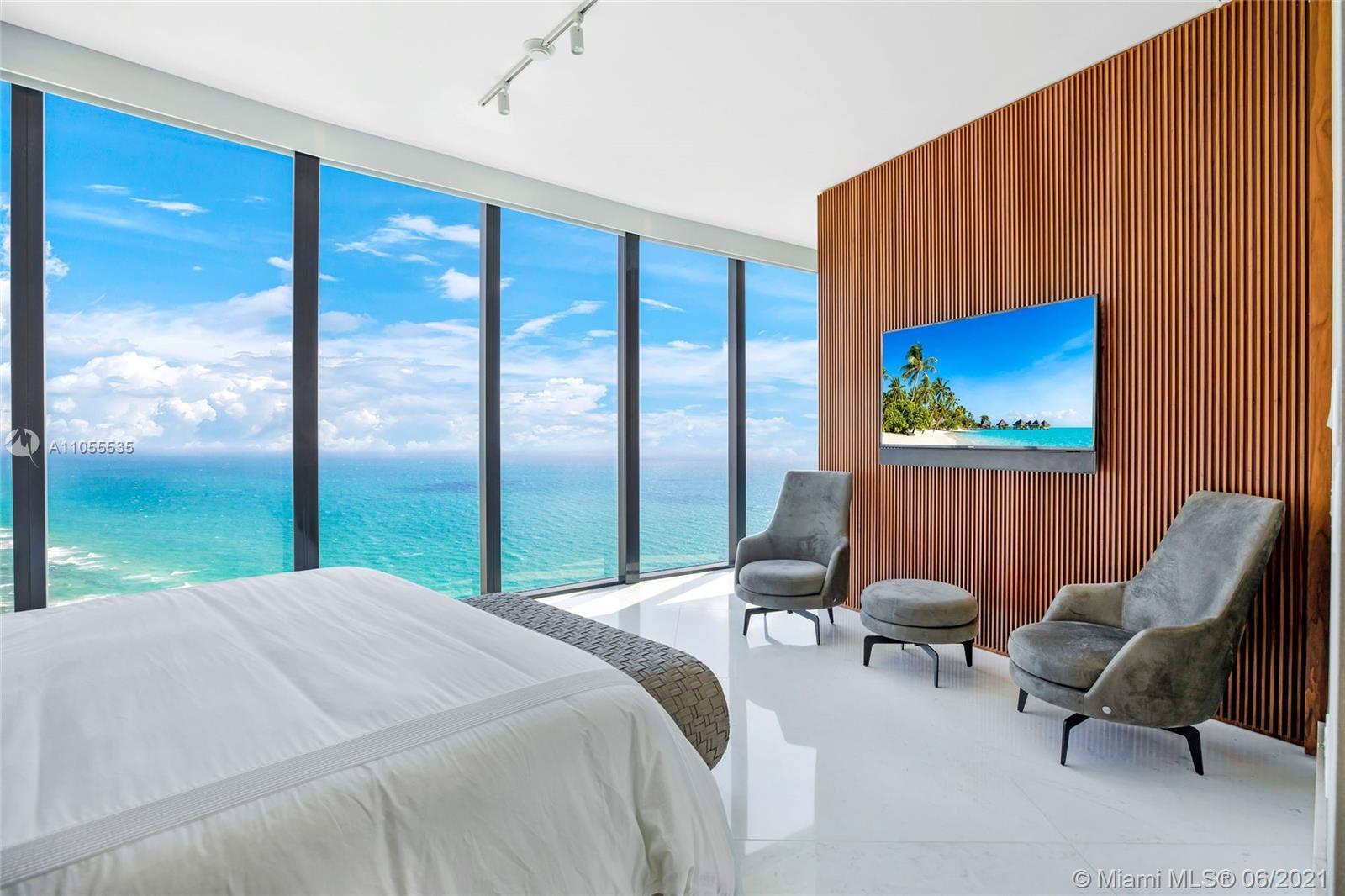 BRAND NEW & Never Lived in 4 Bedroom Direct Oceanview Sky Villa at Porsche Design Tower. Unit was ju