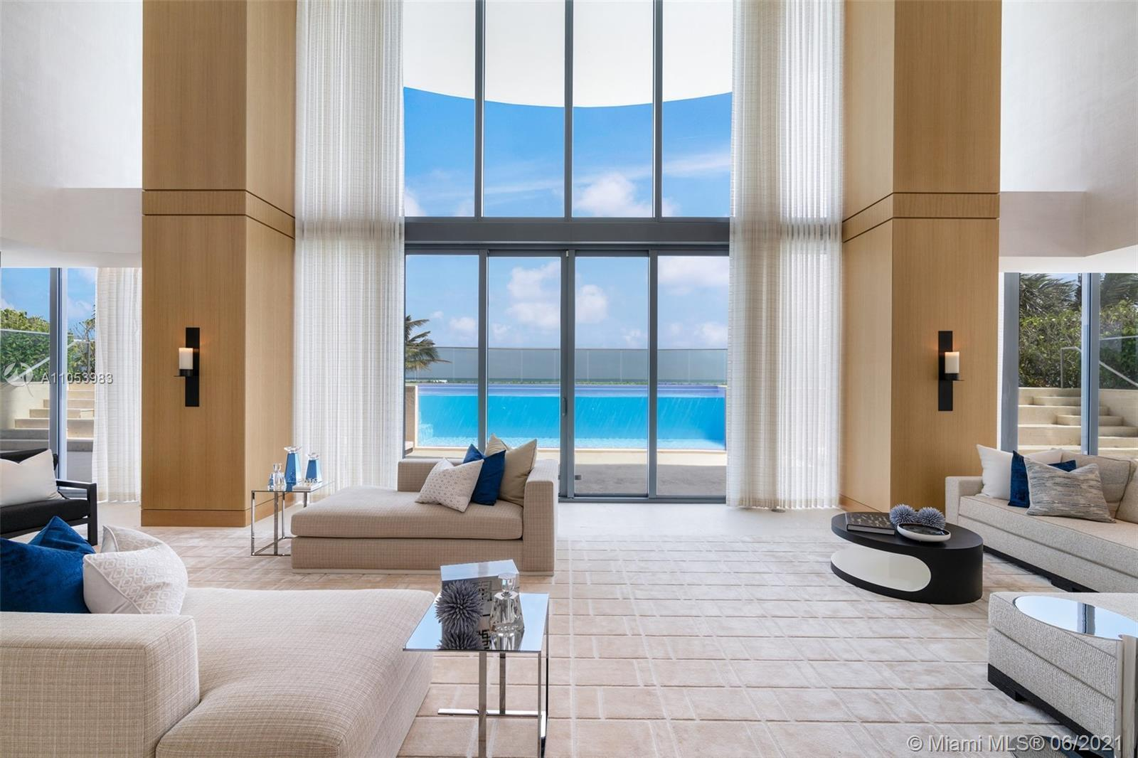 The Beach House at Regalia Sunny Isles is an oceanfront residence at the scale of a private home, wi