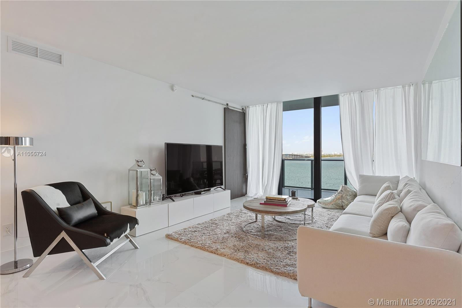 Enjoy stunning sunrise & sunset views from this fully upgraded unit at the exclusive newly built One