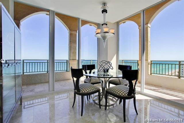 BEST UNIT AND VIEW !!! ONE OF A KIND Designed and finished with the highest quality. Furnished 3 bed