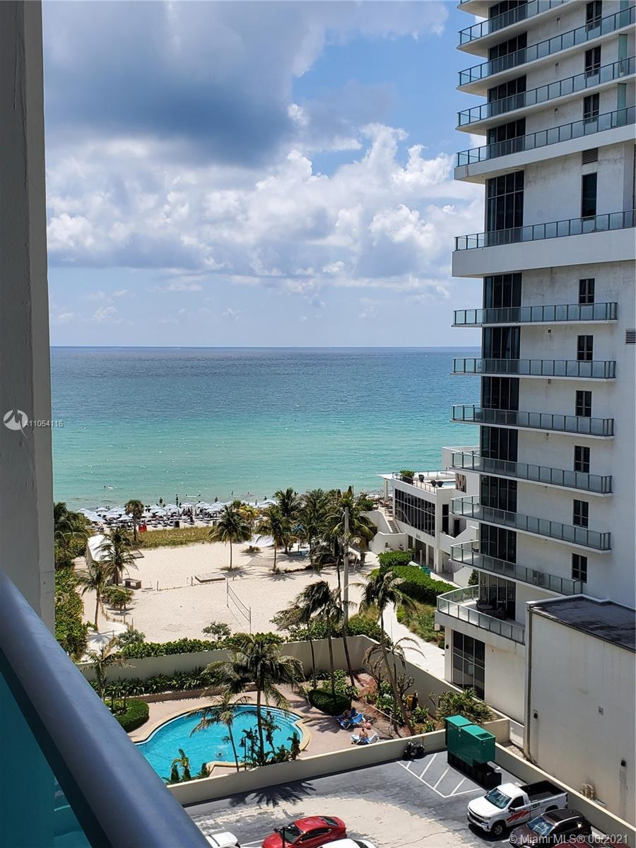 Amazing 1 bedroom/2 baths apartment located in Hollywood beach. Fantastic investment opportunity!! R