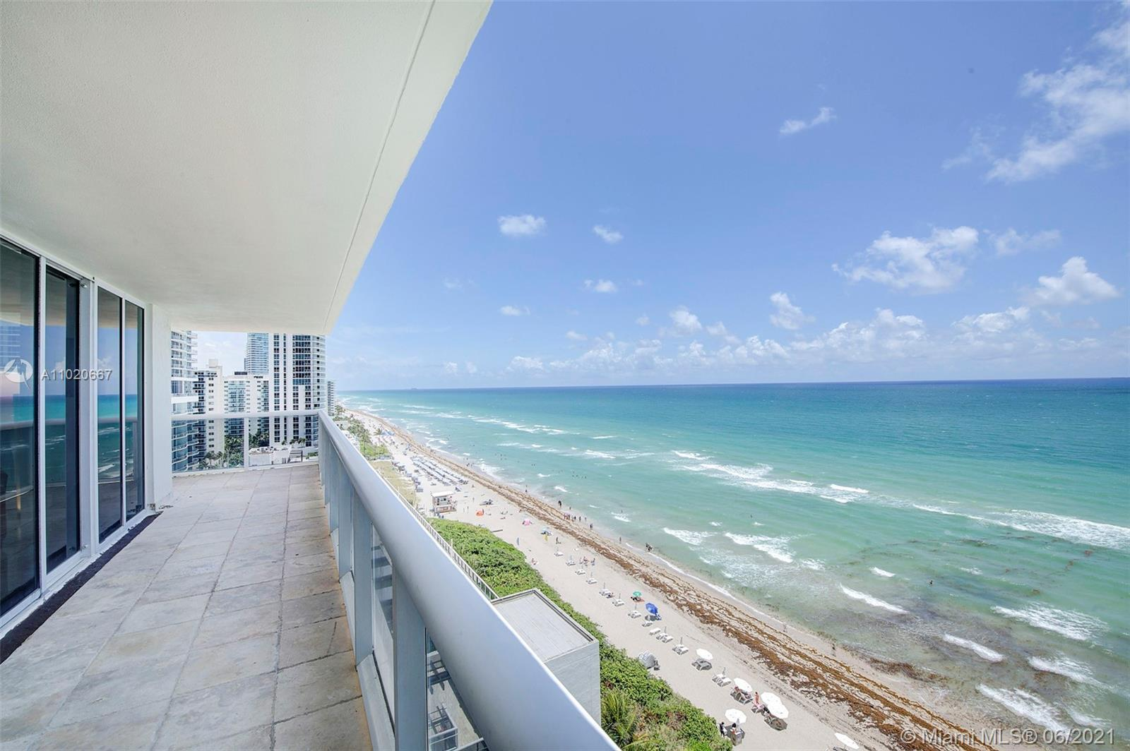 Stunning Wide Atlantic Ocean & Intercostals views from the best line at the Beach Club, corner unit