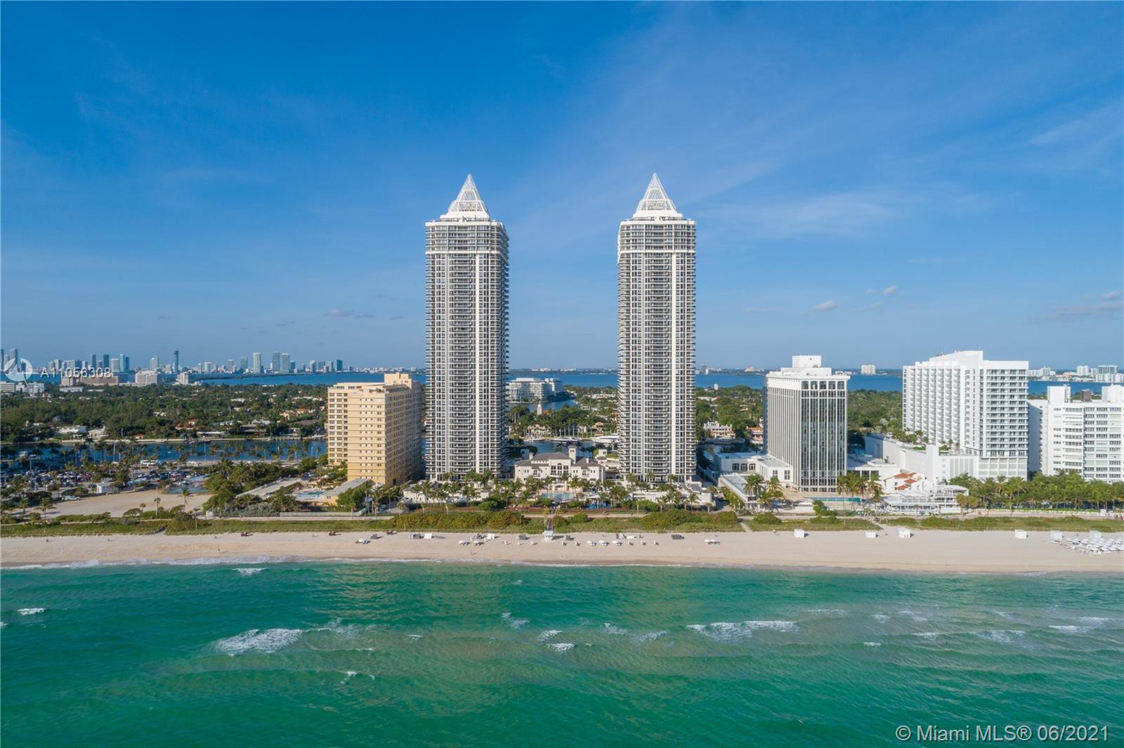 Direct ocean from this large 2 bedrooms plus den and 2 baths residence. Spacious layout with floor-t