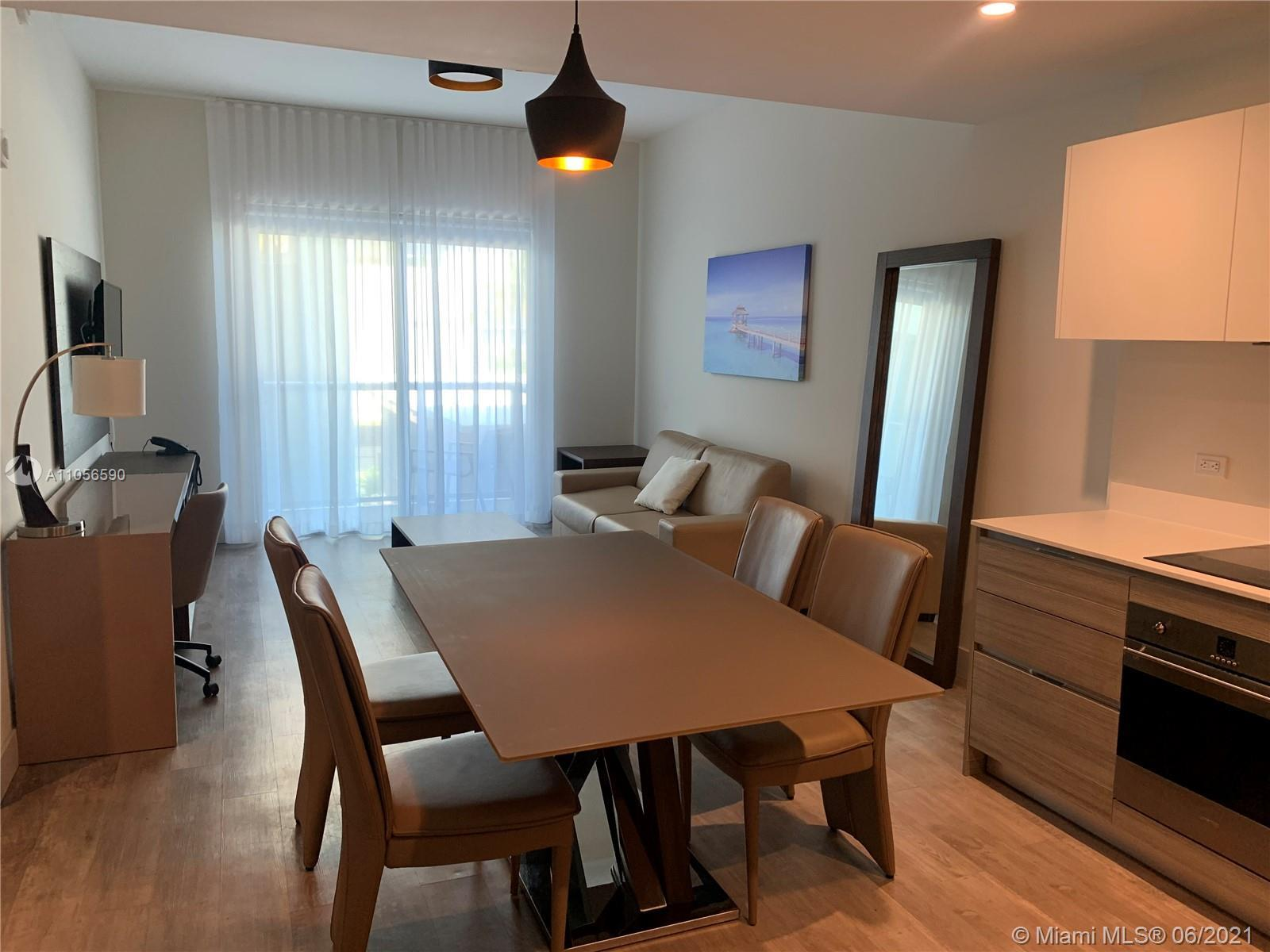 Modern furnished unit steps to Hollywood Beach Boardwalk. Unit had a 95% occupation rate in March an