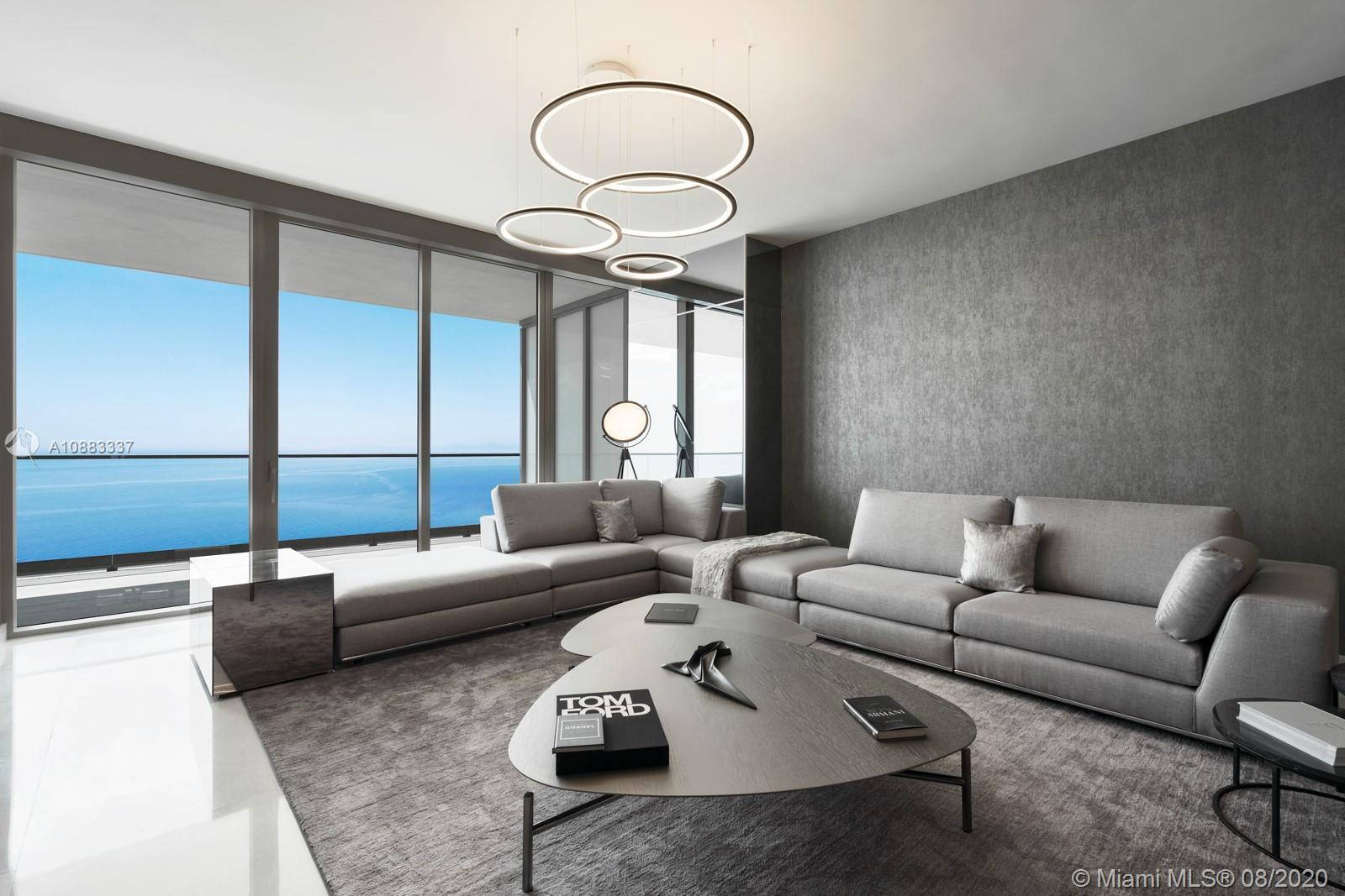 One of the first finished and furnished residences at the one and only Residences by Armani Casa in