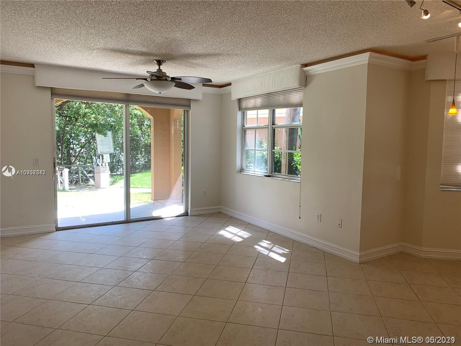 BEAUTIFUL first floor bright corner unit feels like living in a House. Enjoy your balcony as an exte