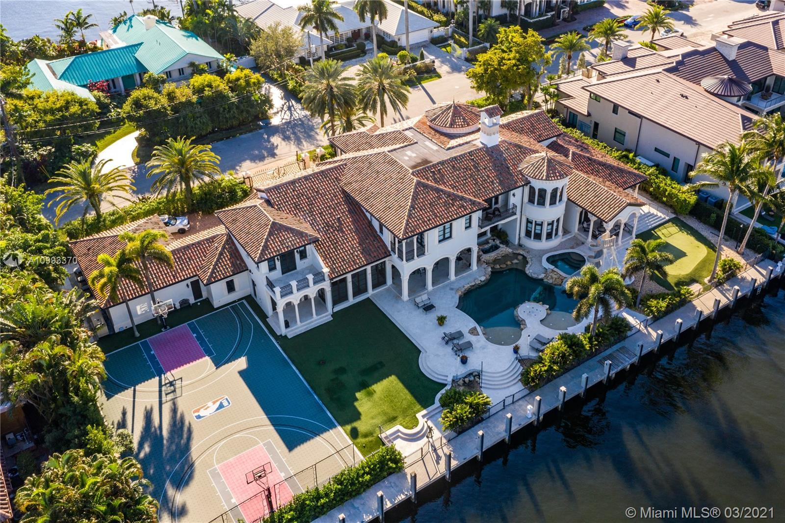 Located in Harbor Beach, one of the most exclusive gated communities in Ft Lauderdale, is the specta