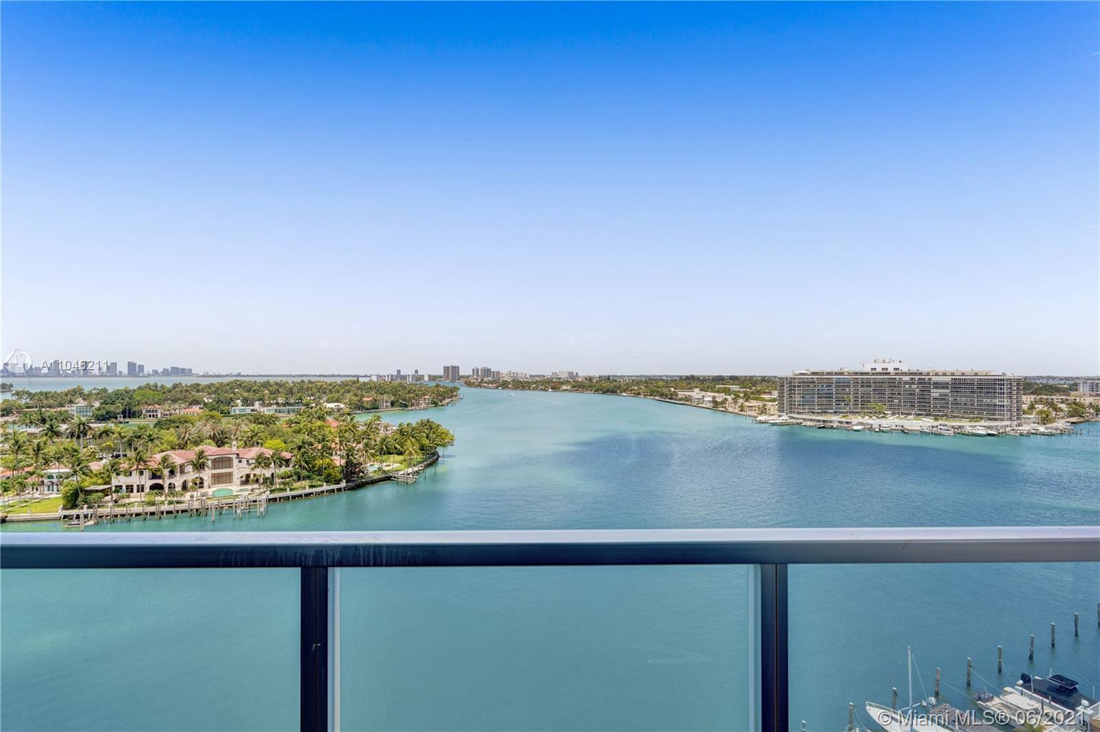 Facing Alison Island and Normandy Isle this corner unit located in North Shore offers amazing intrac