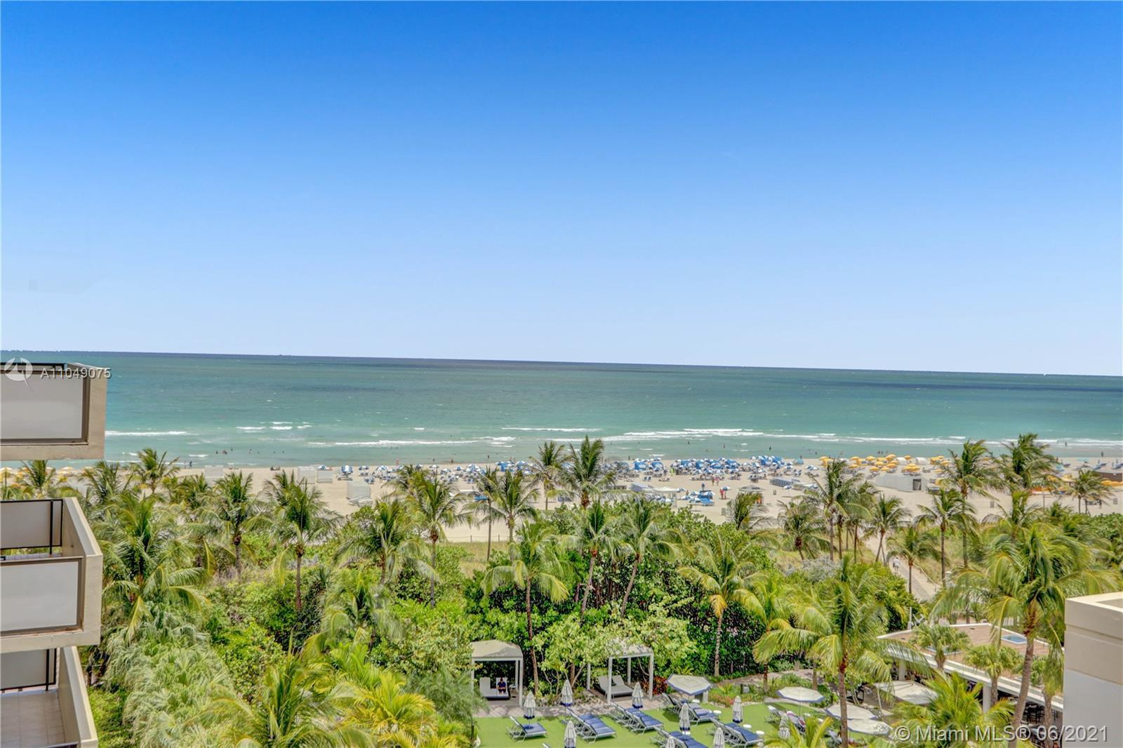The beach is calling! Fabulous opportunity to purchase a completely remodeled apartment with ocean v