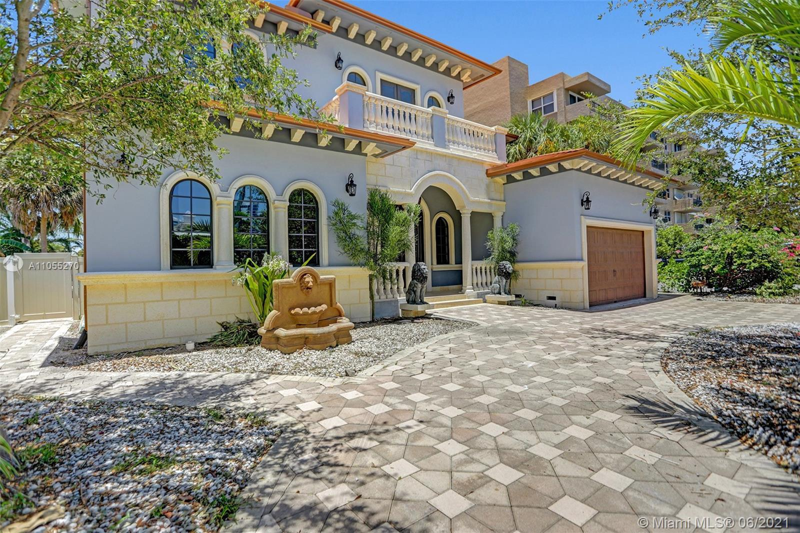 Magnificent, custom built (2017) coastal Estate in very sought after Pompano Beach. Meticulously des