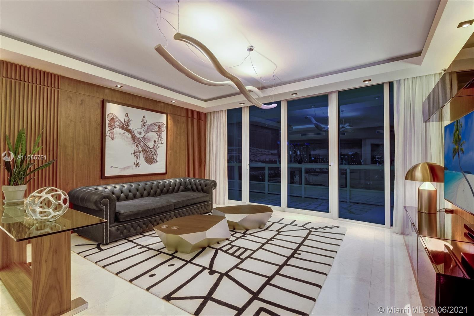 STUNNING COMPLETELY REMODELED RESIDENCE CONVERTED INTO 3 BEDROOMS AND 2½ BATHROOMS. PRIVATE ELEVATOR