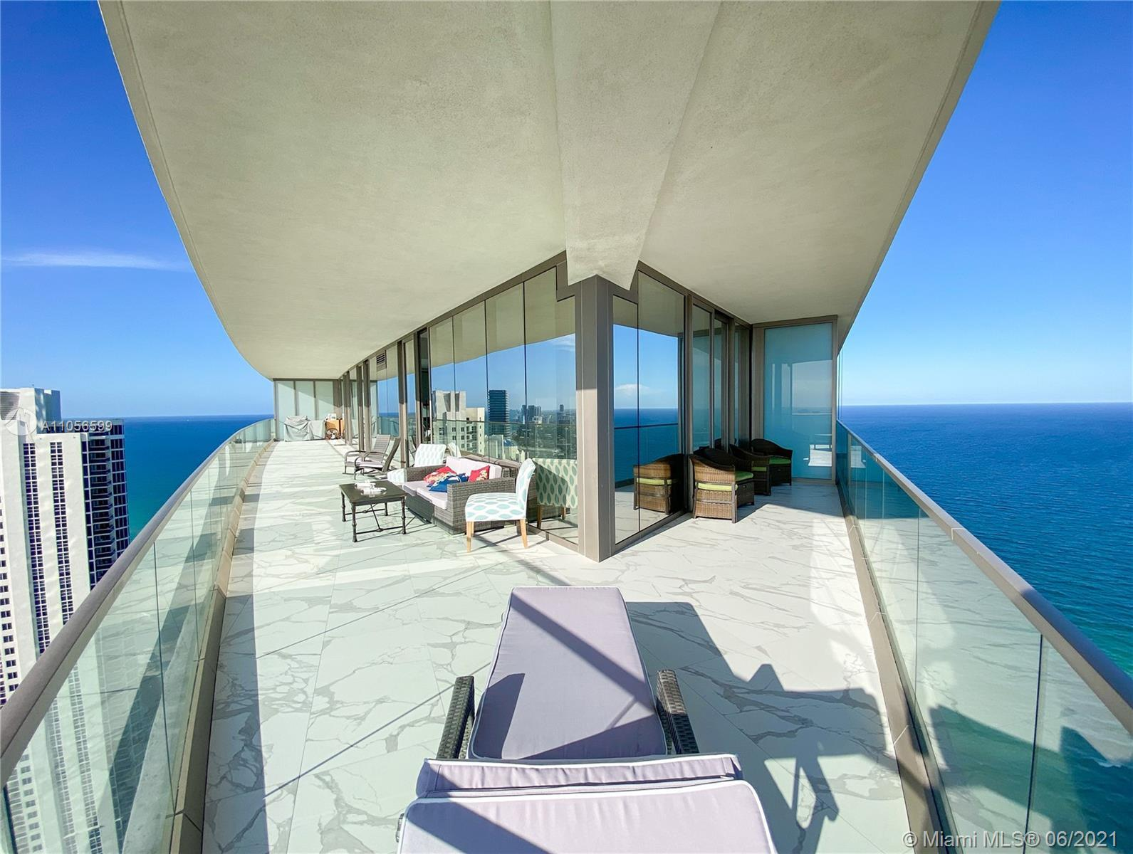 The new Residences by Armani Casa in Sunny Isles Beach's the most prestigious beachfront building. T