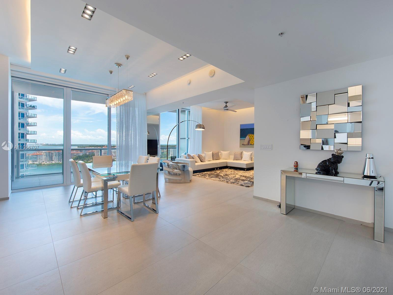 Impeccably renovated unit at Continuum North Tower. Cruise Ship Alley, Fisher Island and ocean views