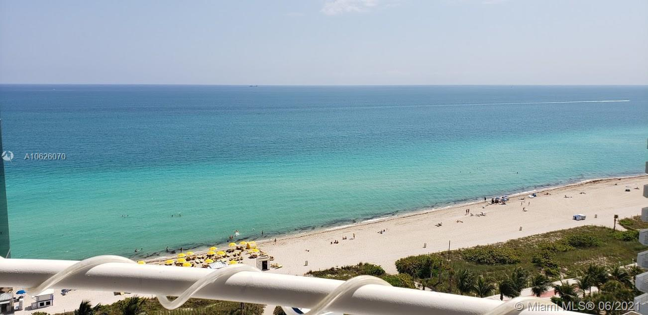 Amazing 3 bed 2 and 1/2 unit , renovated direct ocean views , 1700 sq under A/C, and 2 big balconies
