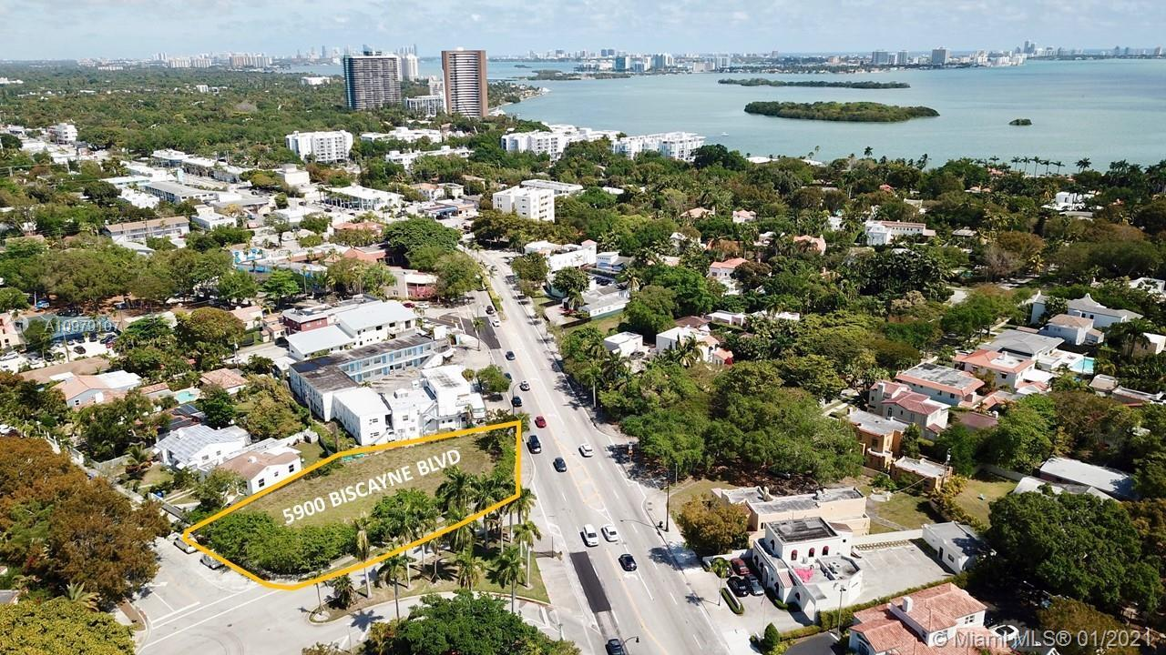 DWNTWN Realty Advisors has been exclusively retained for the sale of 5900 Biscayne Boulevard, a rare
