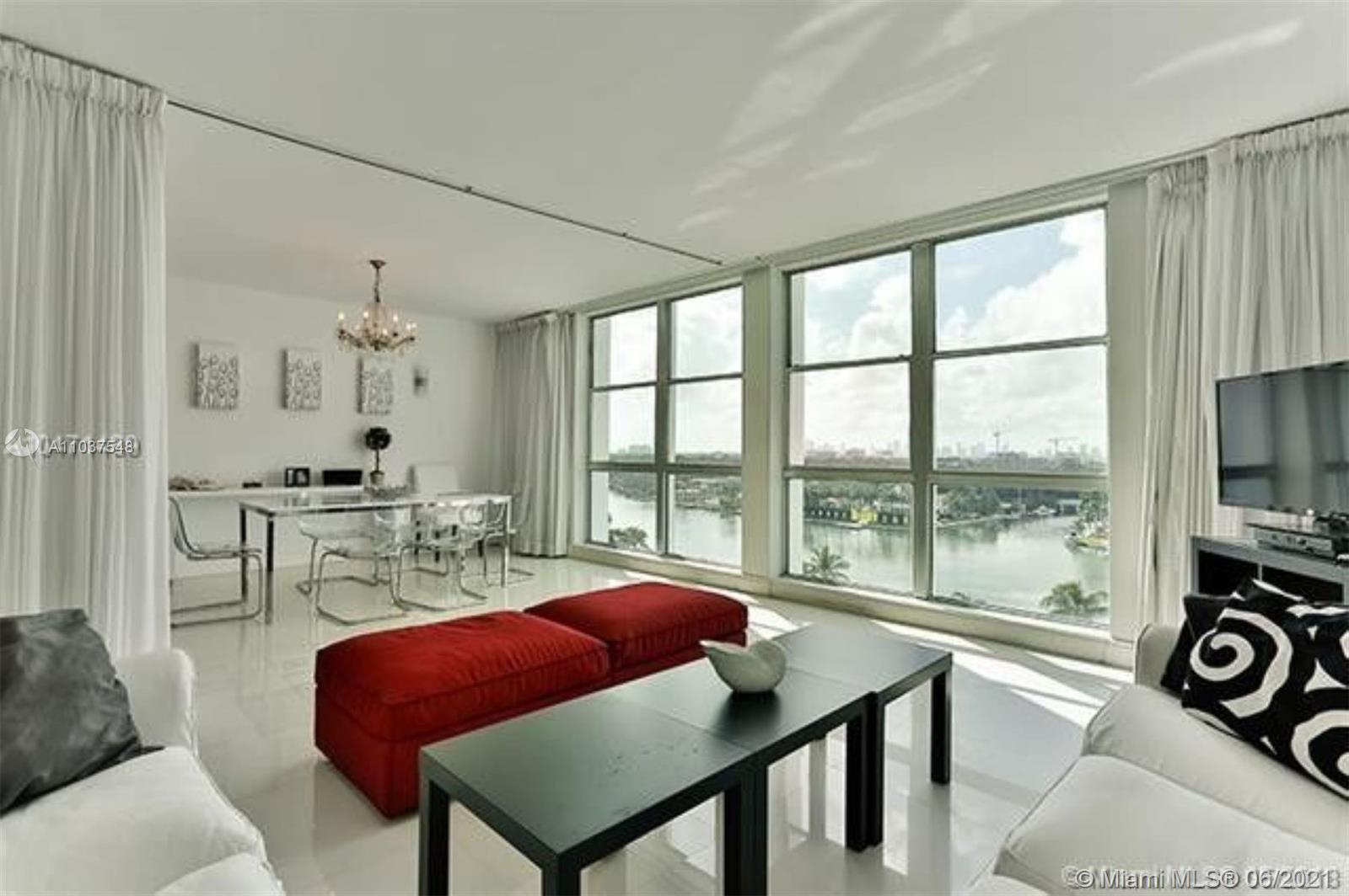 This gorgeous 2 Bed & 3 Baths, 1660sf apartment is located at the Crystal House, designed by emblema