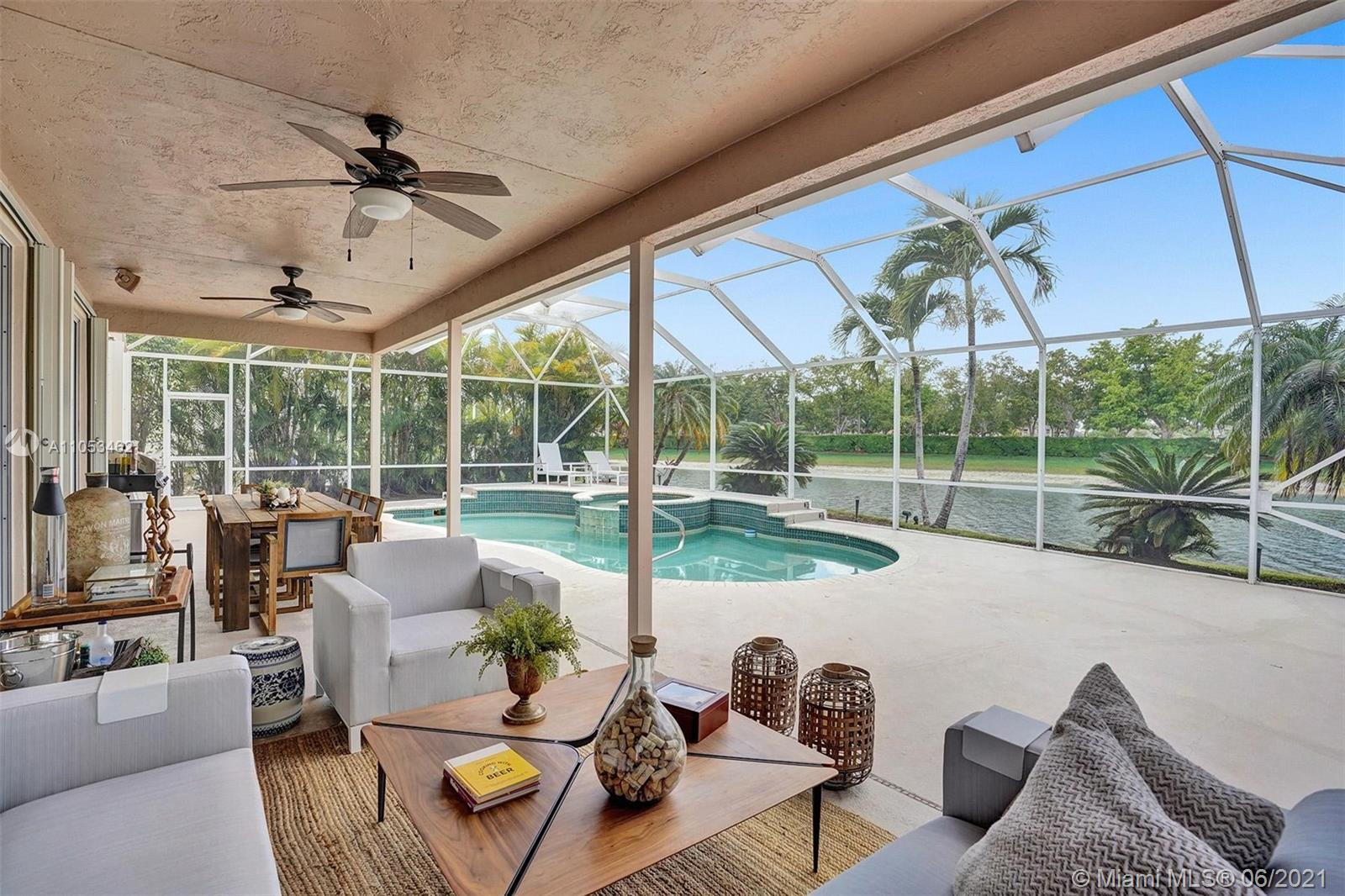 Beautiful home at the Waterways At Boca Winds Community. This perfectly updated home sits on a premi