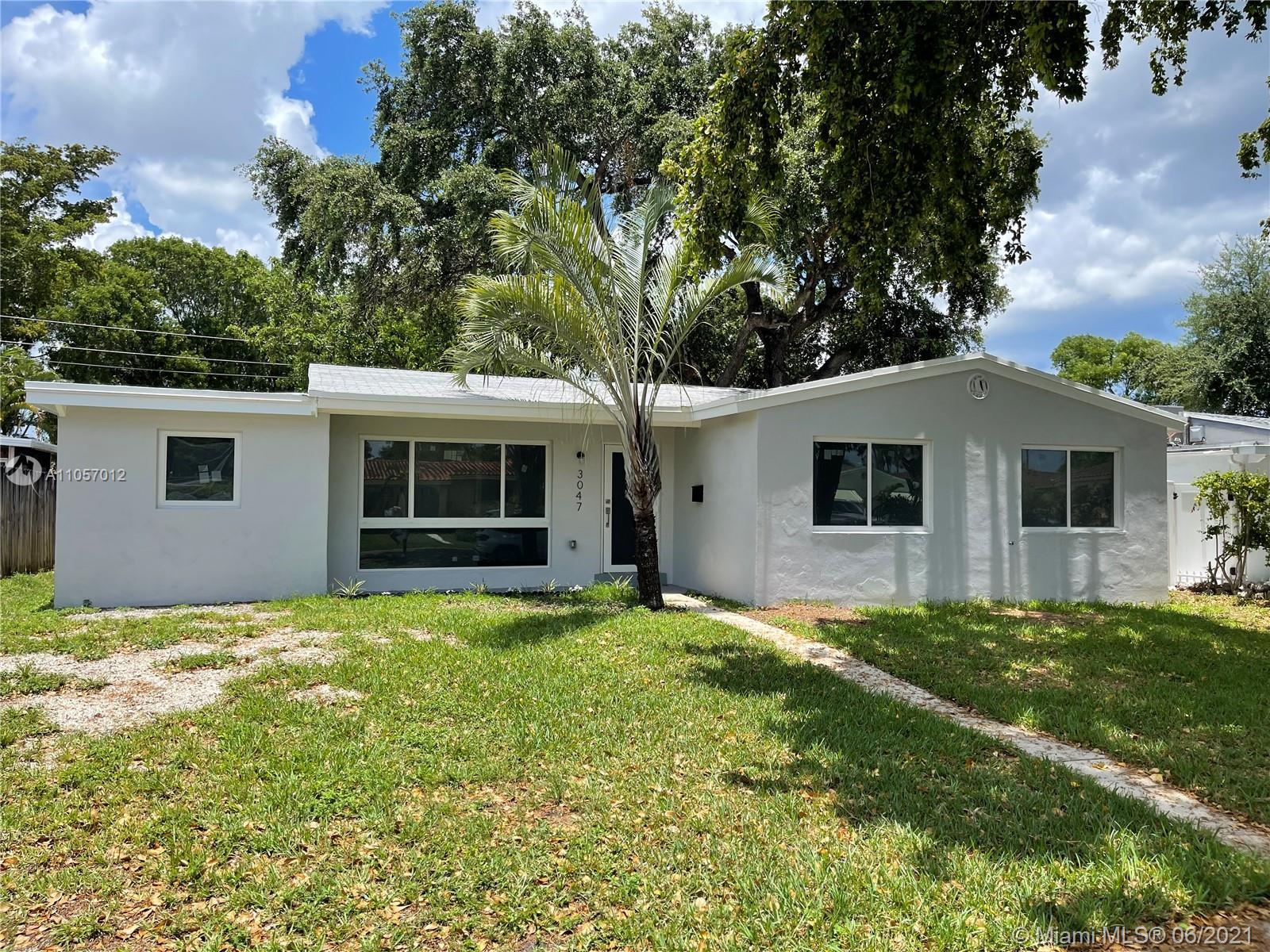 COMPLETELY REMODELED MOVE-IN READY! 4 BEDROOMS 3 BATHROOMS AND PLENTY OF ROOM FOR A POOL! THIS HOME