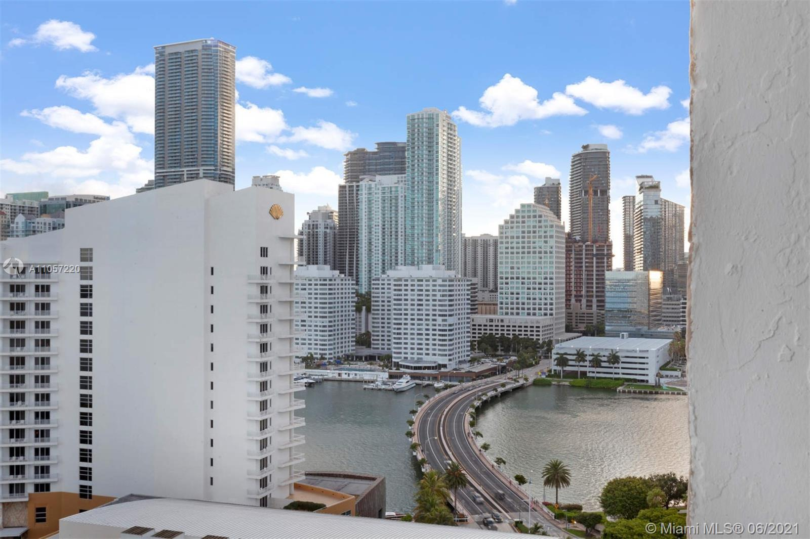 Enjoy the serene lifestyle that Brickell Key has to offer - including its own supermarket, restauran
