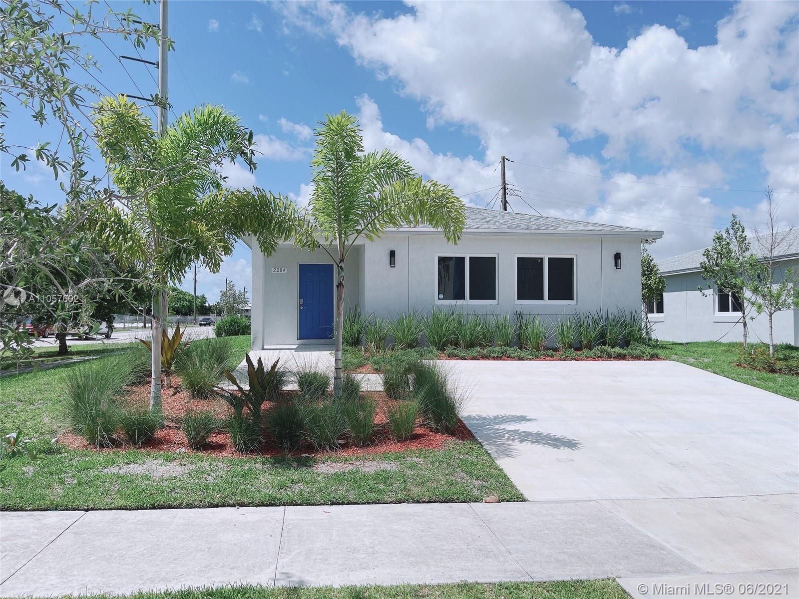 Welcome to a brand new corner lot  home. The house has an open floor plan with a clean look, modern