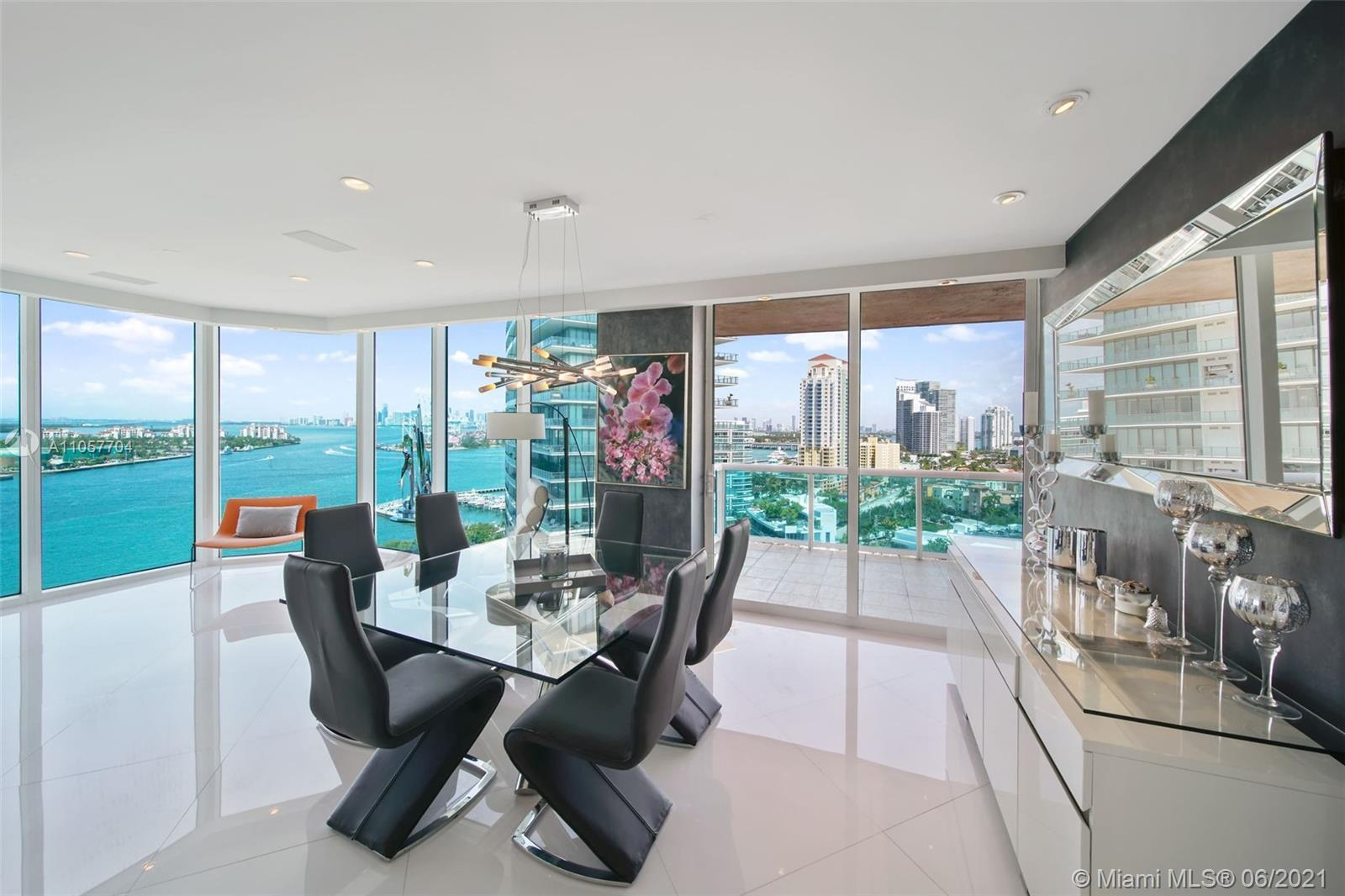 Completely remodeled 3 bedroom corner residence with incredible attention to detail.Modern finishes