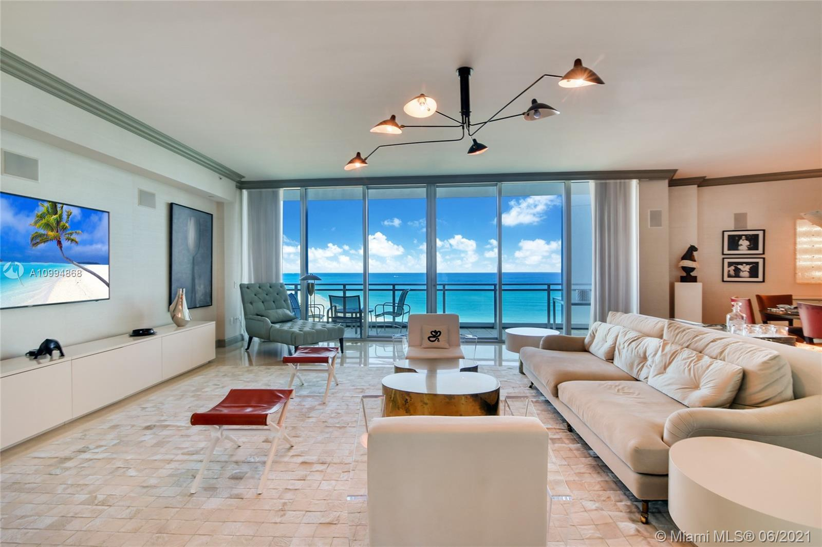 $500 K Price Reduction for a Quick sale  ! PANORAMIC DIRECT OCEAN, INTRACOASTAL & MIAMI SKYLINE VIEW